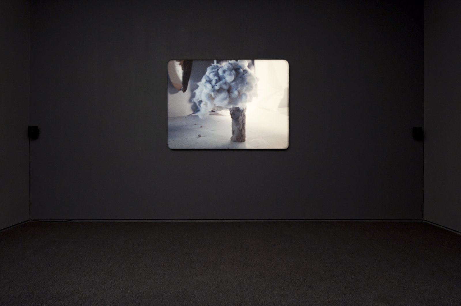 ​Julia Feyrer, The artist's studio, 2010, colour 16mm film loop with non-synchronized sound, 5 minutes, 5 seconds by Julia Feyrer