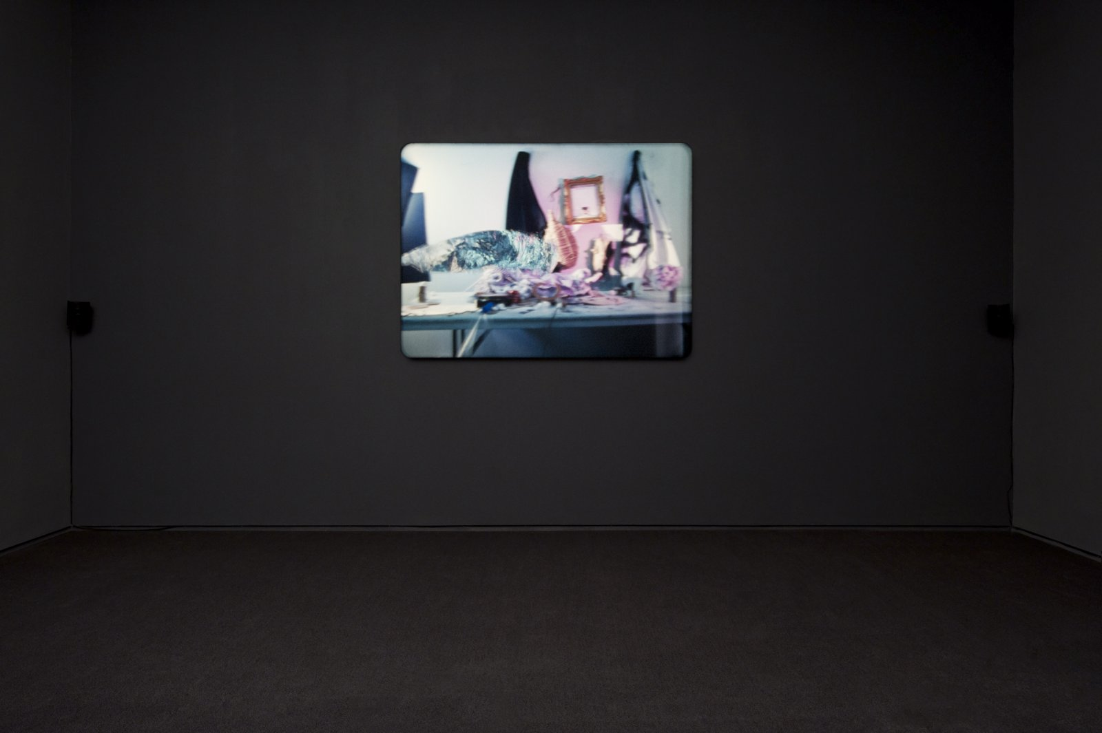 Julia Feyrer, The artist's studio, 2010, colour 16mm film loop with non-synchronized sound, 5 minutes, 5 seconds by Julia Feyrer