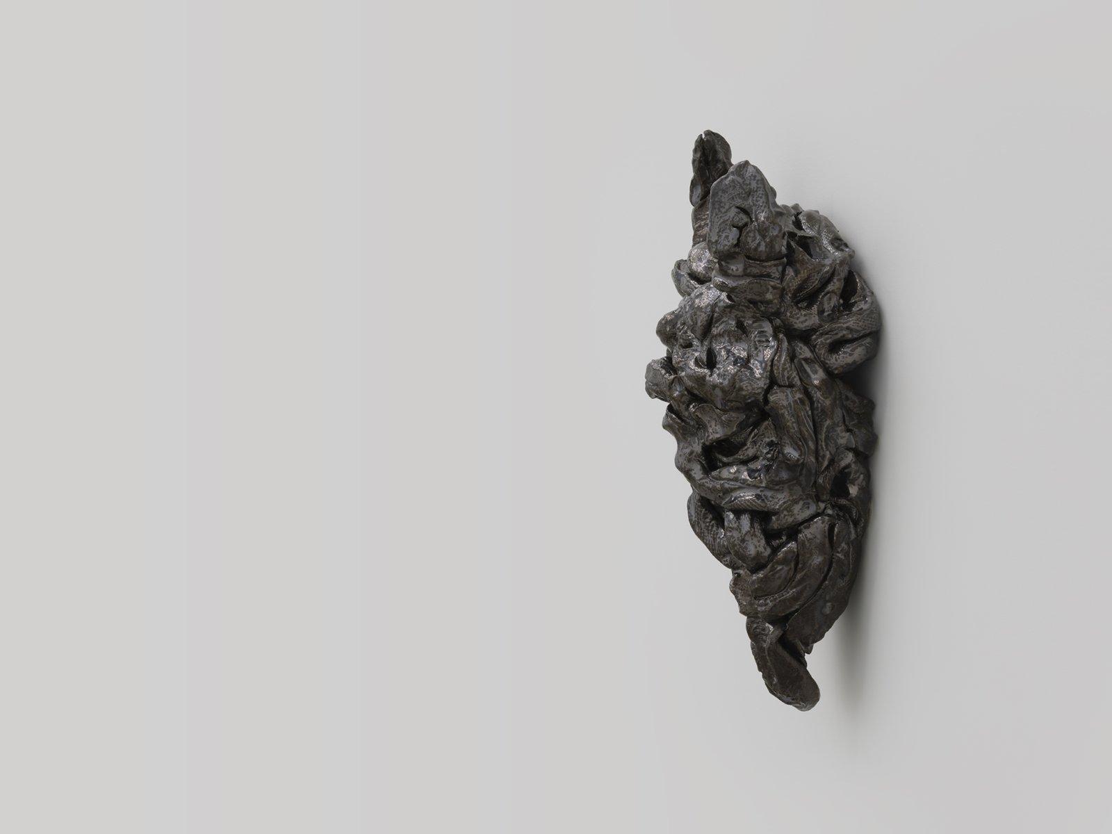 Rochelle Goldberg, Gatekeeper: What is breathing within this body, 2019, glazed ceramic, 21 x 7 x 12 in. (53 x 18 x 31 cm) by Rochelle Goldberg