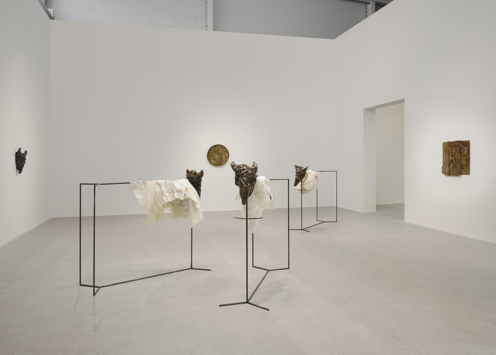Rochelle Goldberg, installation view, gatekeepers, Catriona Jeffries, Vancouver, 2019 by Rochelle Goldberg