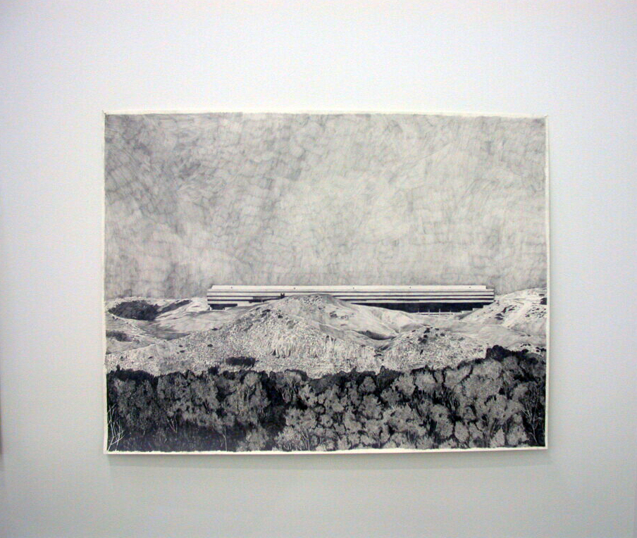 ​Alex Morrison, Untitled, 2006, graphite drawing, 38 x 50 in. (97 x 127 cm)​​ by