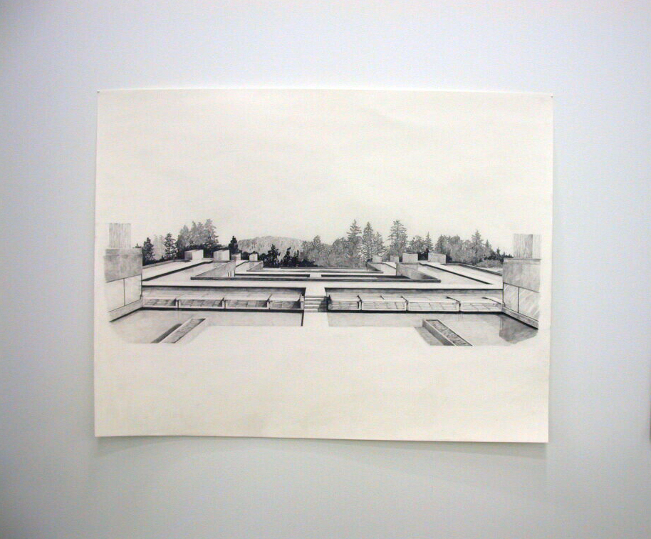​Alex Morrison, Untitled, 2006, graphite drawing, 38 x 50 in. (97 x 127 cm) by