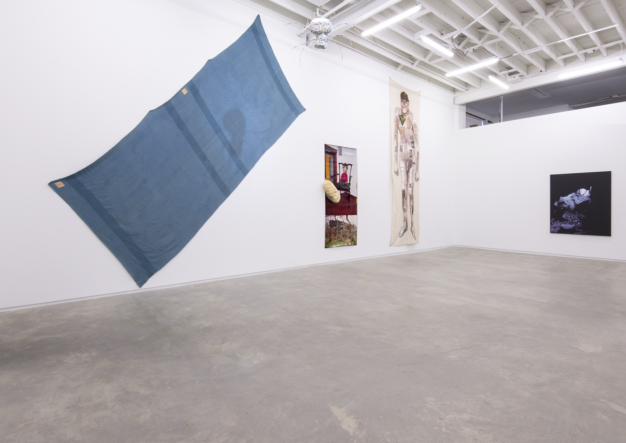 Liz Magor, Jerry Pethick, Ron Tran, installation view, A view believed to be yours, 2015 by