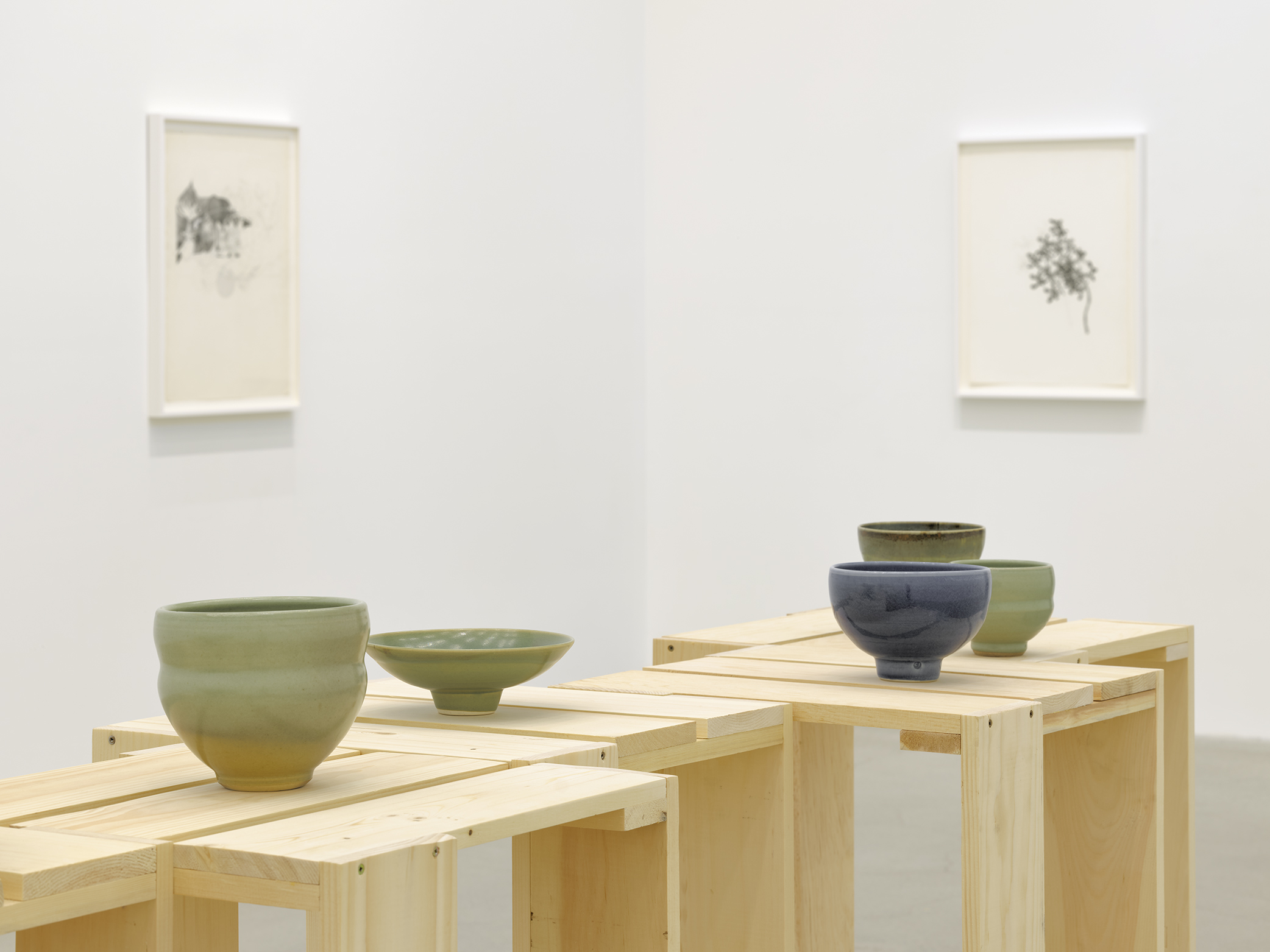 Charmian Johnson, Ceramics collection, 1983–2003, 18 glazed ceramic works, dimensions variable by