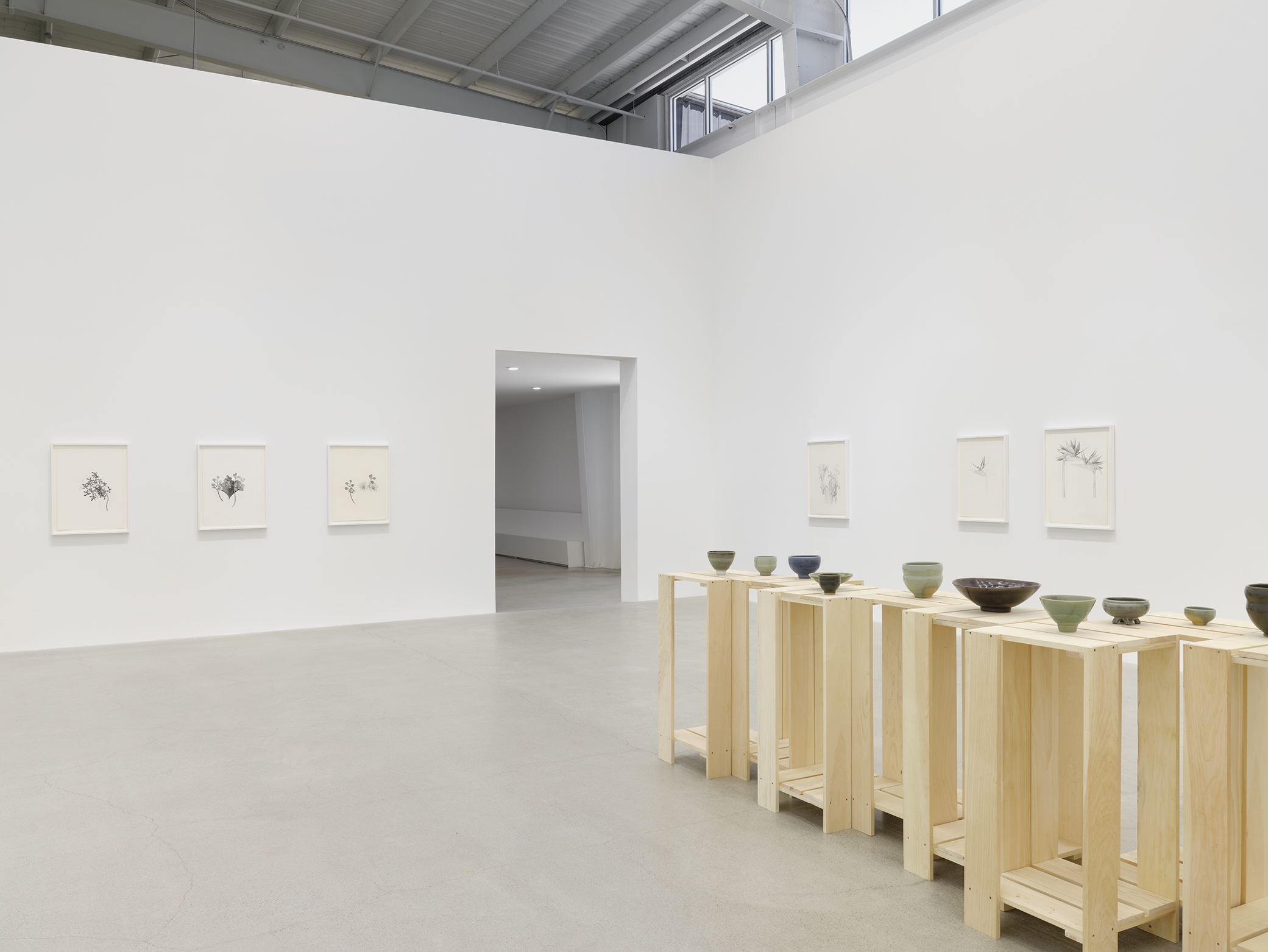 Charmian Johnson, installation view, Catriona Jeffries, Vancouver, 2021 by