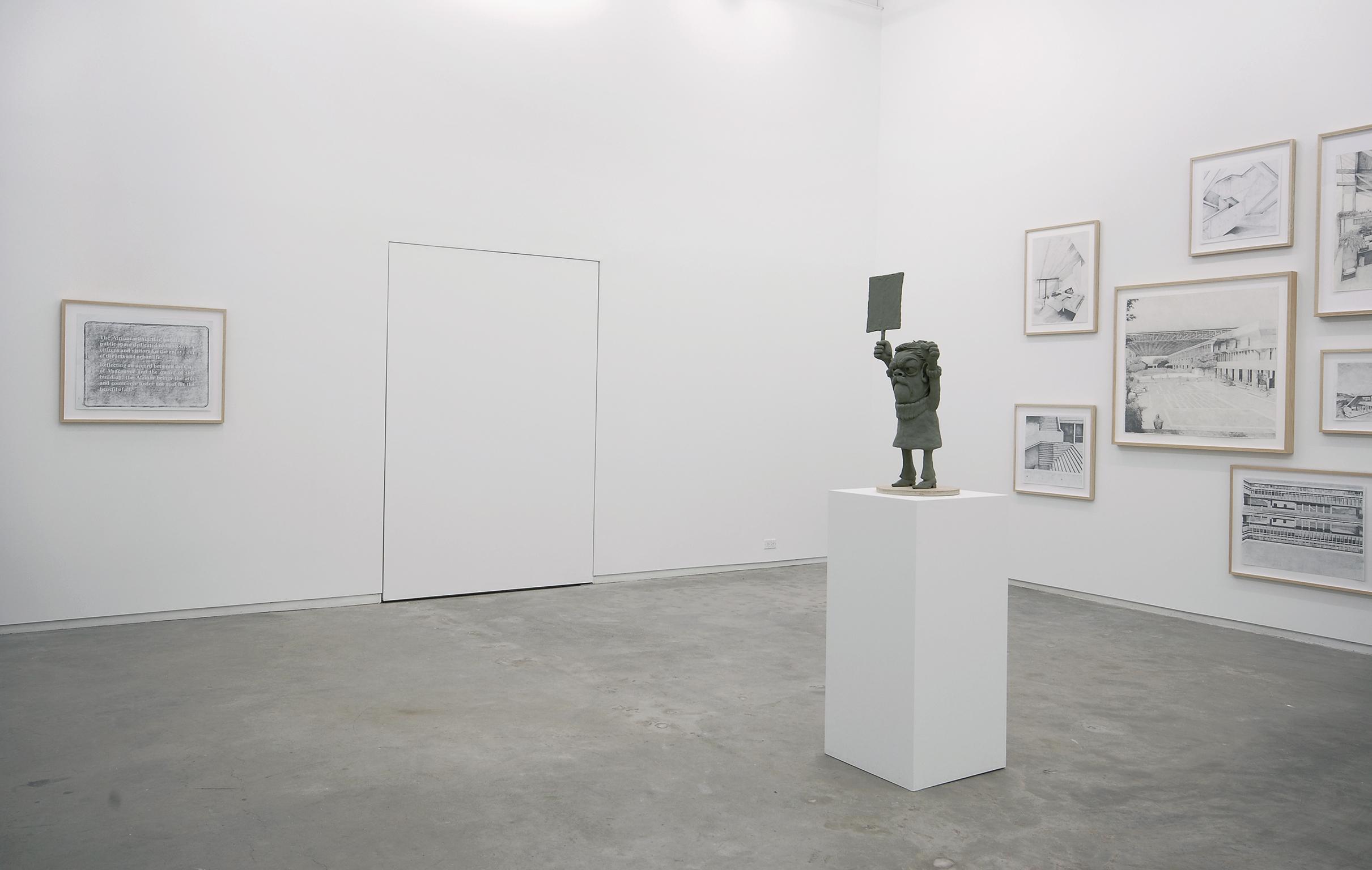 Alex Morrison, installation view, Catriona Jeffries, 2007 by