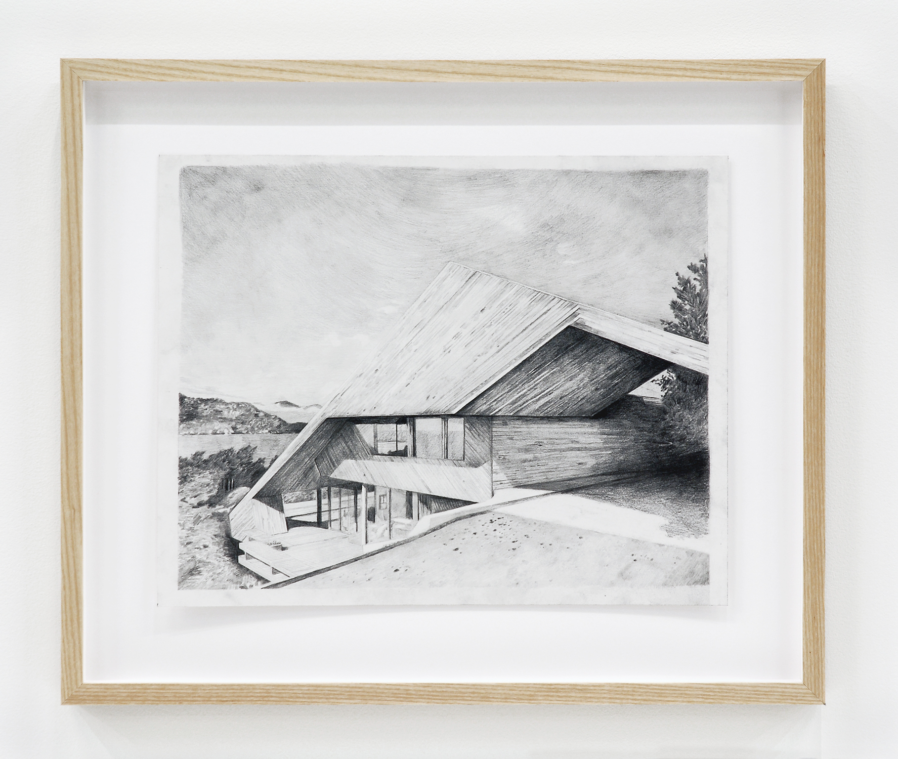 Alex Morrison, The Poetics of Grey (No. 10), 2007, graphite on paper, 18 x 21 in. (45 x 53 cm) by
