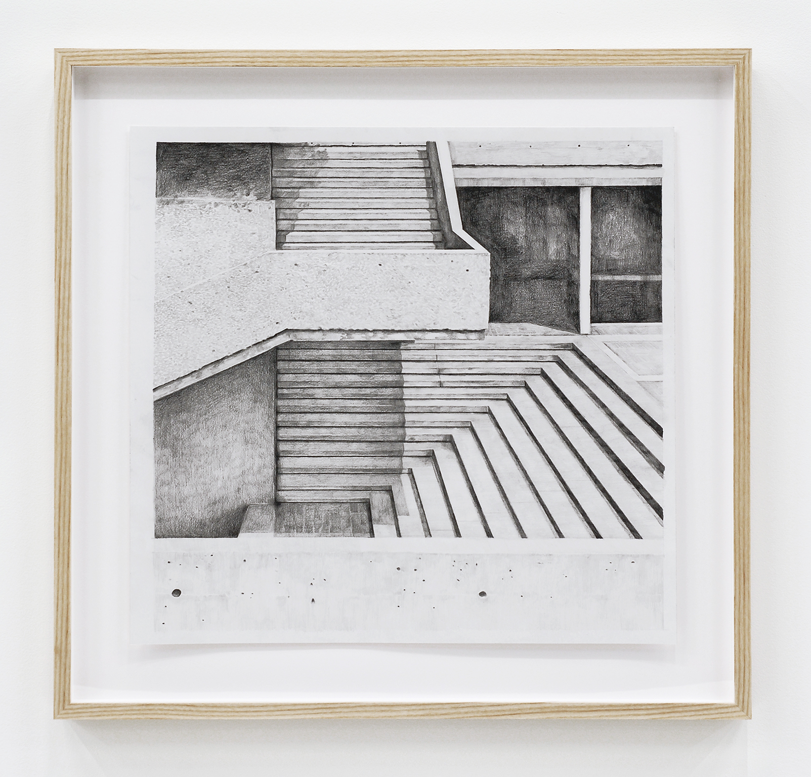 Alex Morrison, The Poetics of Grey (No. 11), 2007, graphite on paper, 25 x 21 in. (63 x 53 cm) by