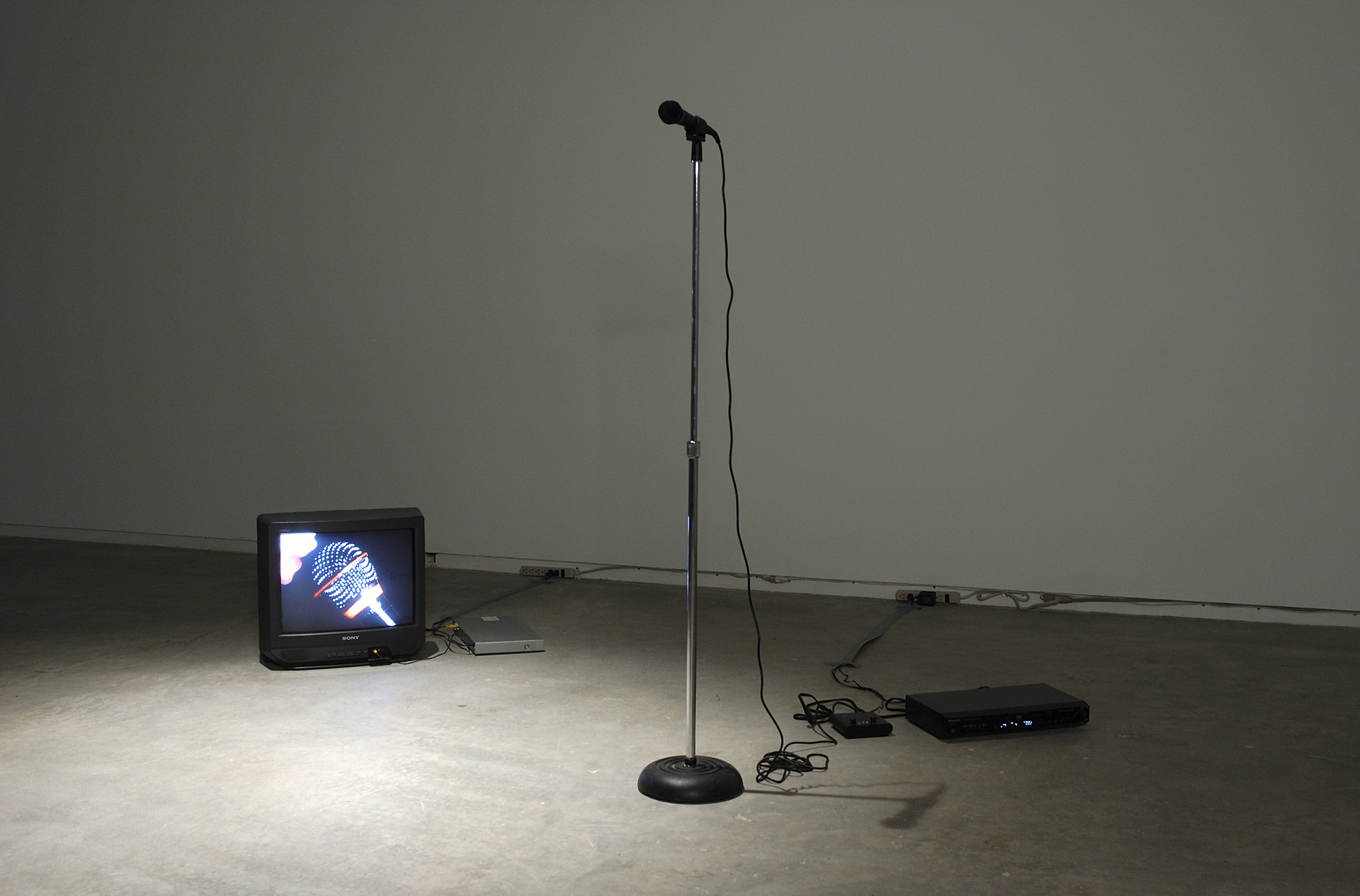 Isabelle Pauwels, If you can't finance your fiction shut the fuck up, 2006, mixed media, dimensions variable by