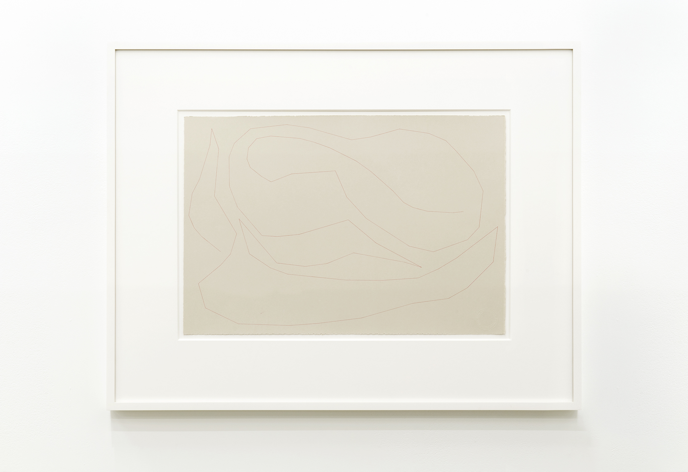 ​Guy de Cointet, Untitled, c. 1982, ink on paper, 15 x 22 in. (38 x 56 cm) by