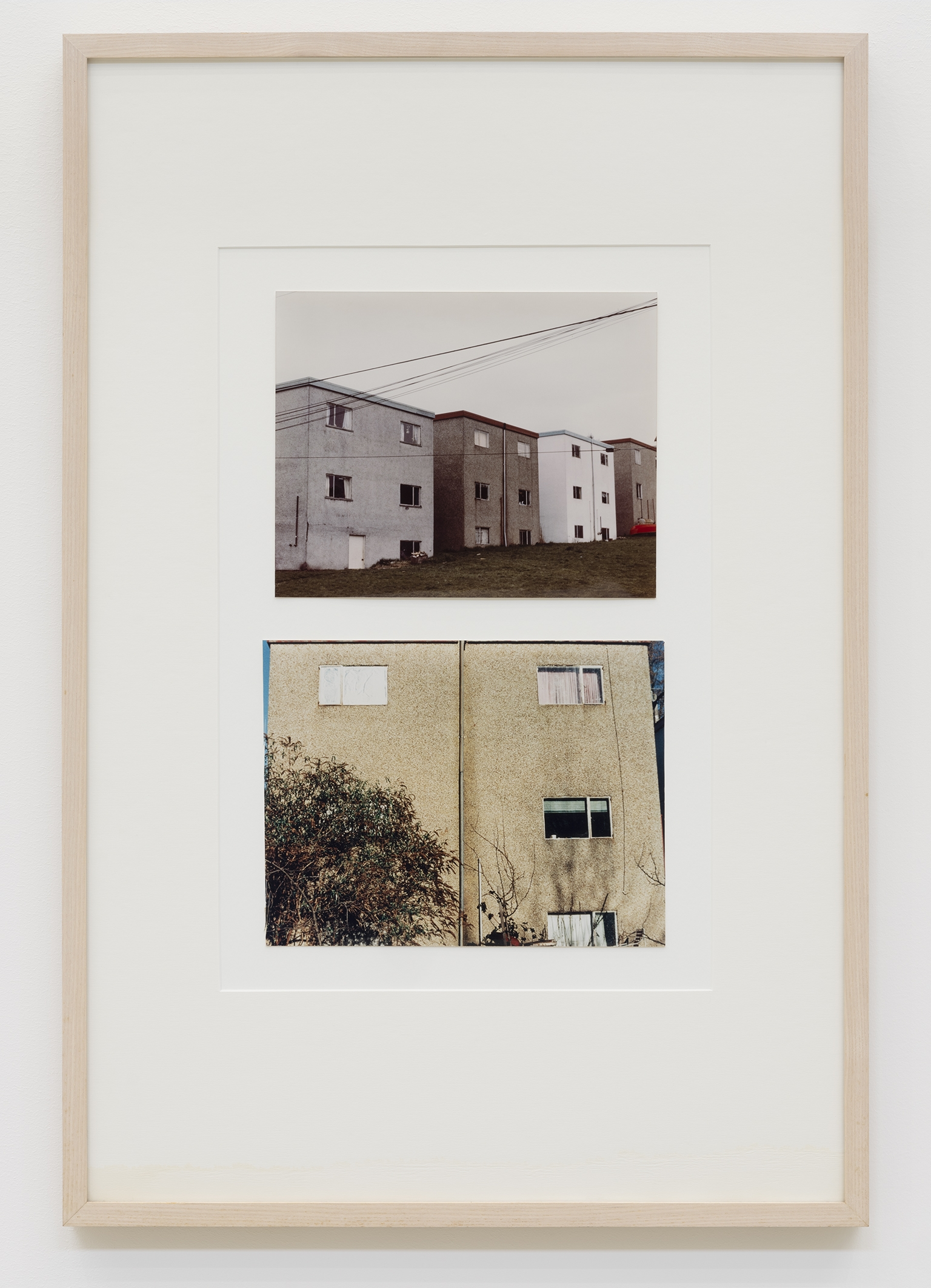 Dan Graham, Untitled (Homes for America), 1966, colour photographs, 31 x 21 in. (79 x 53 cm) by