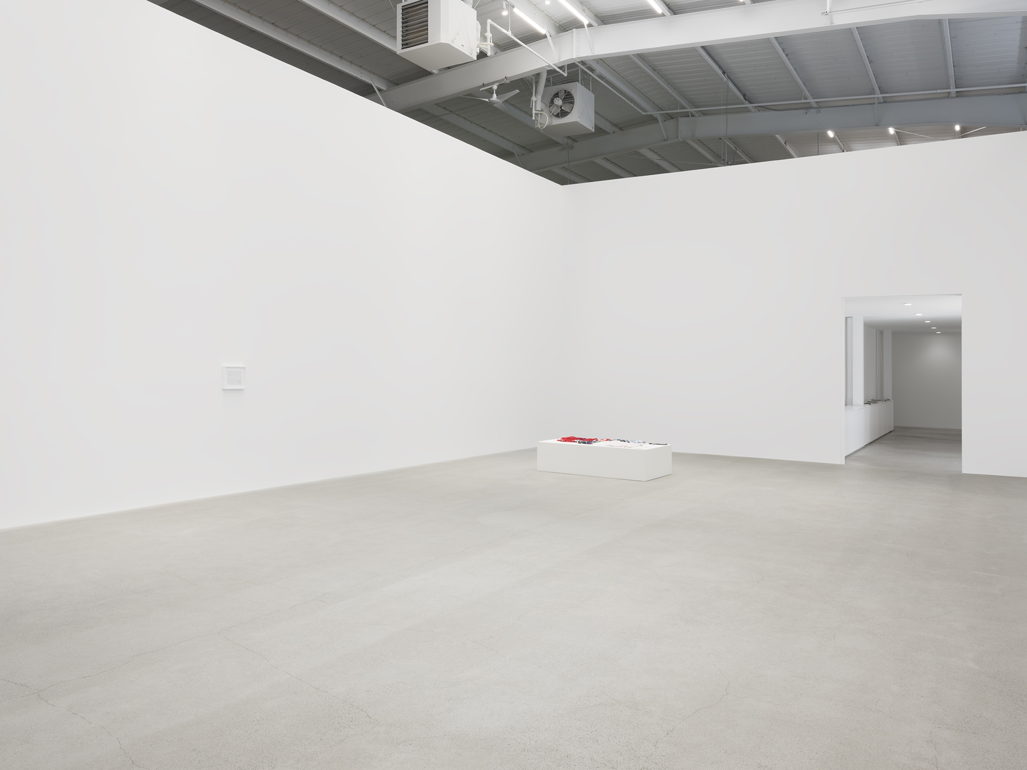 ​On Kawara, Tanya Lukin Linklater, installation view, Unexplained Parade, Catriona Jeffries, Vancouver, April 27, 2019​​​ by