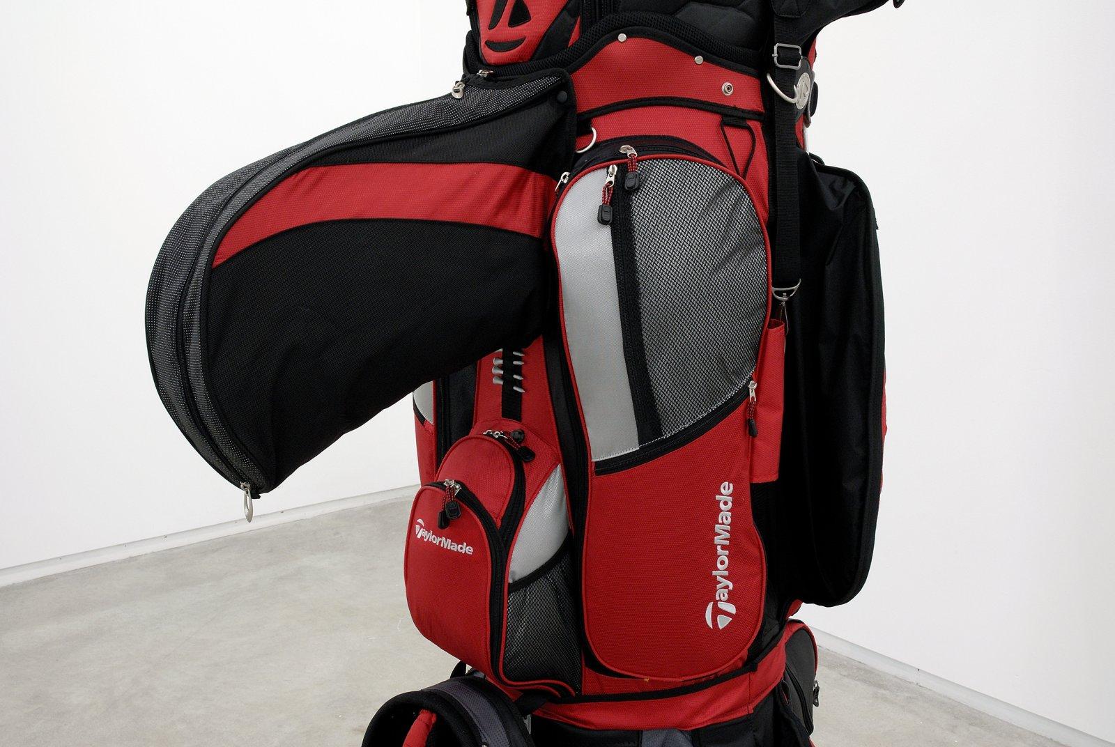 Brian Jungen, 2000 (detail), 2007, golf bags, cardboard tube, 146 x 30 x 38 in. (371 x 76 x 97 cm) by Brian Jungen