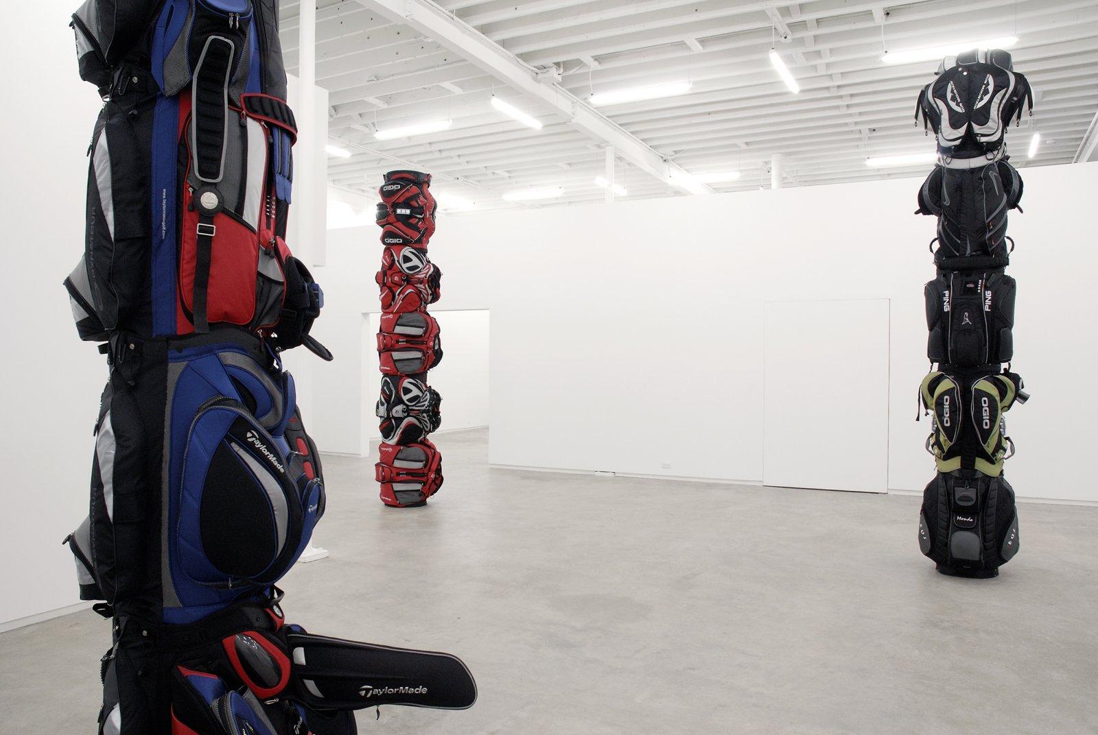Brian Jungen, installation view, Catriona Jeffries, 2007  by Brian Jungen