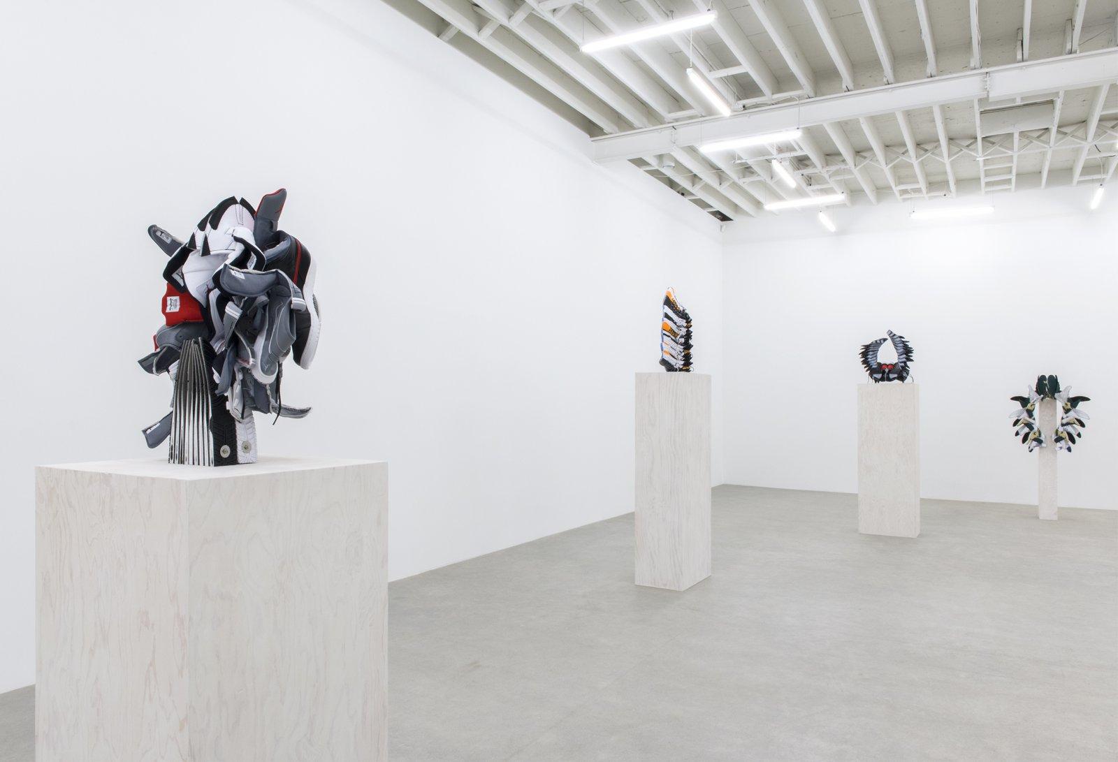 Brian Jungen, installation view, Catriona Jeffries, 2016 by Brian Jungen