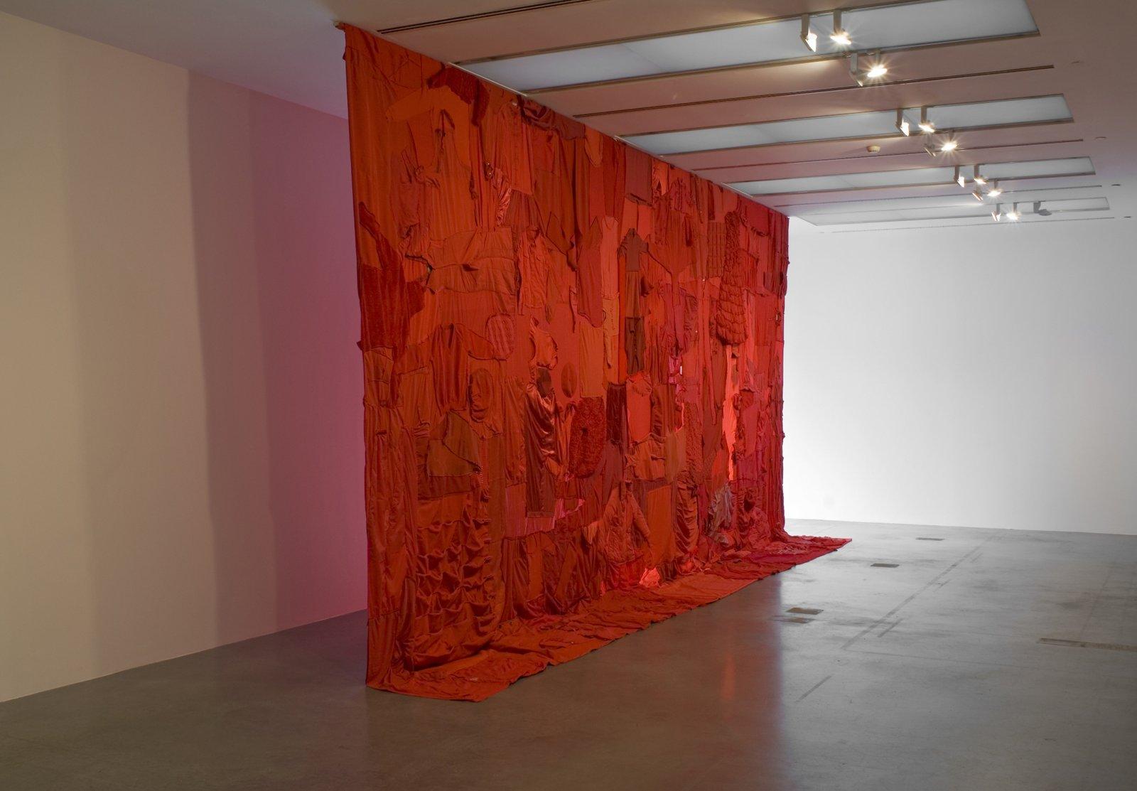 BrianJungen,People's Flag, 2006, textiles, 189 x 347 in. (480 x 880 cm)