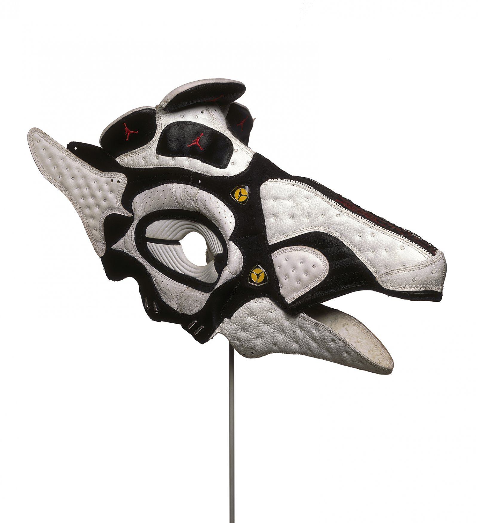 BrianJungen,Prototype for New Understanding #7, 1999, nike air jordans, 11 x 14 x 22in. (28 x 36 x 56cm)