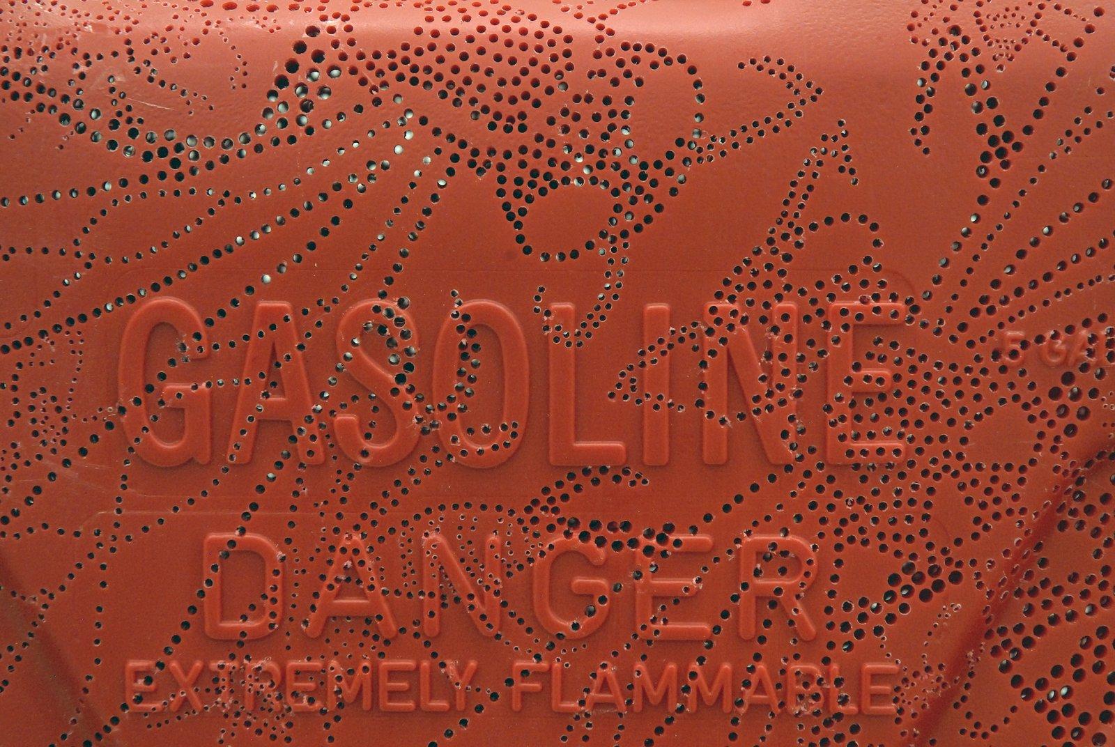 Brian Jungen,Wasp(detail), 2008, carved gallon gasoline jug, 18 x 13 x 7 in. (46 x 33 x 18 cm)