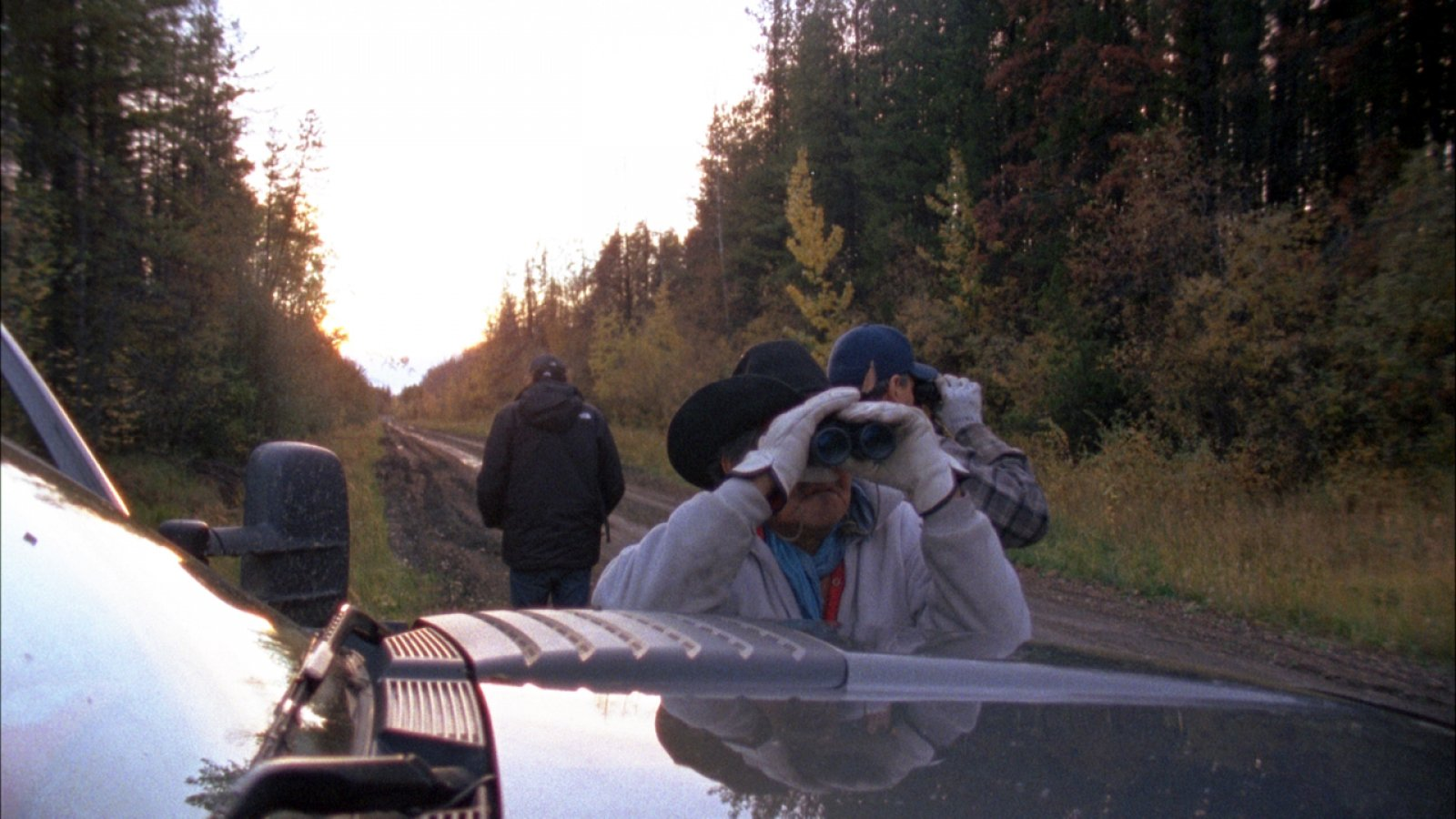Brian Jungen and Duane Linklater, Modest Livelihood(still), 2012, super 16mm film, transferred to blu-ray, 50 minutes, silent