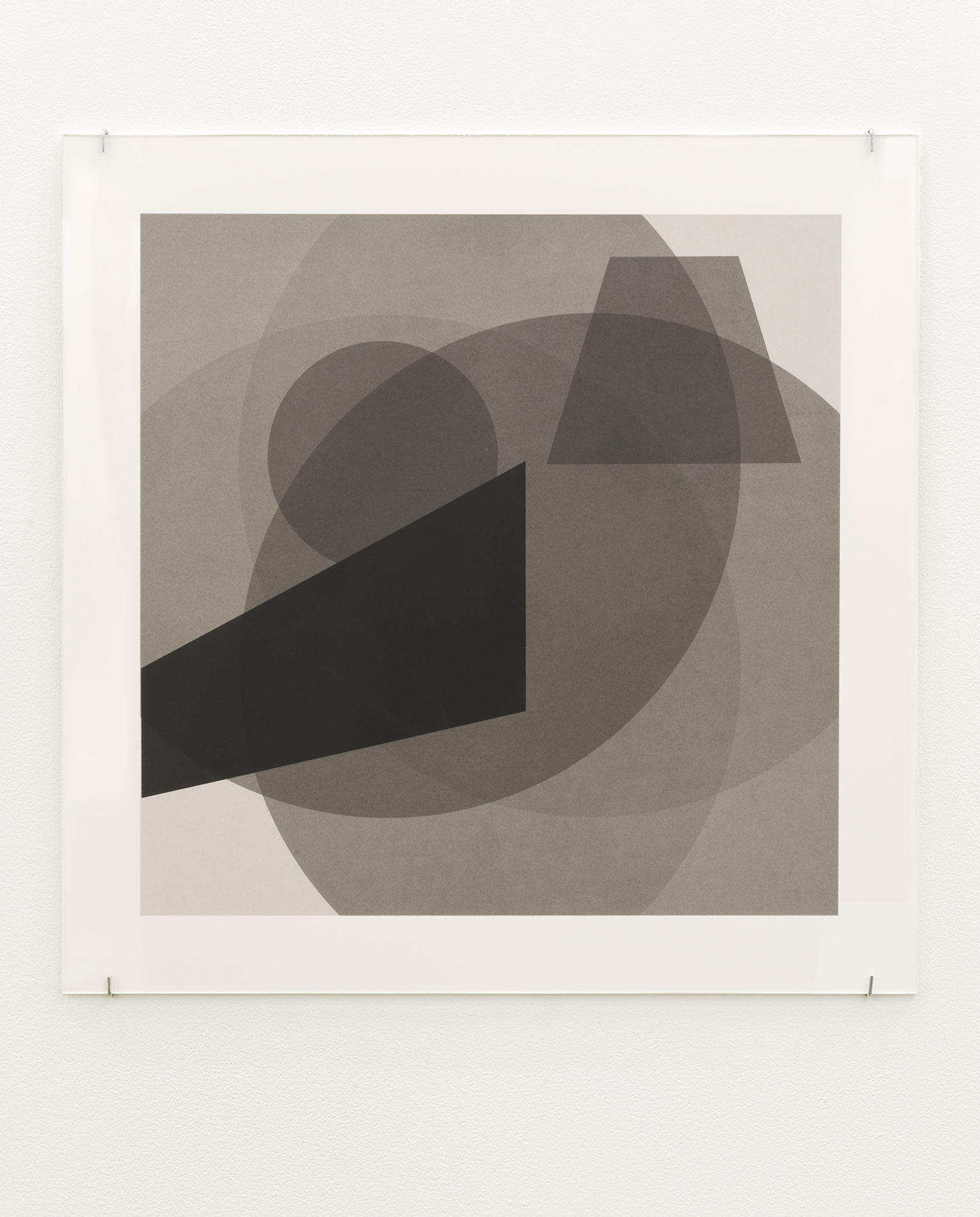 Janice Kerbel, Cue, 2011, silkscreen on paper, 22 x 22 in. (56 x 56 cm) by