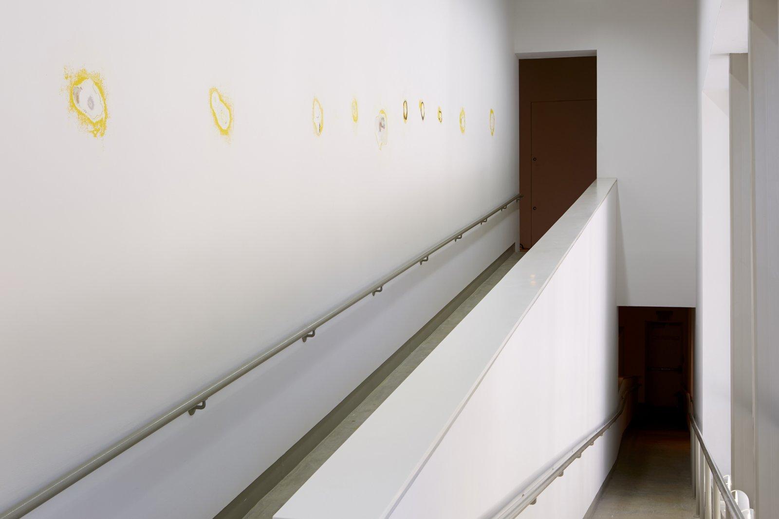 Duane Linklater, installation view, It means it is raining, ICA, Philadelphia, 2014 by Duane Linklater
