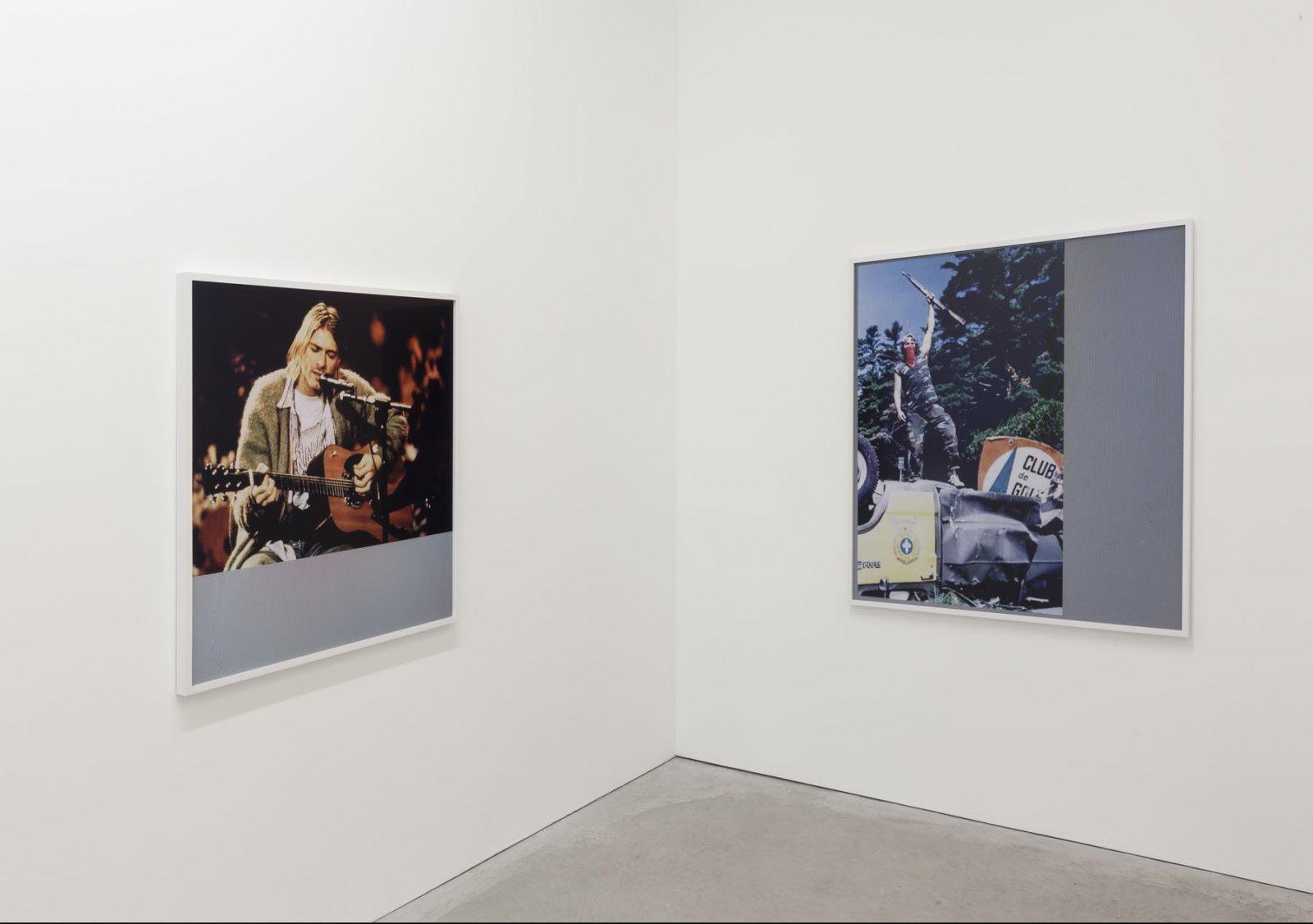 Duane Linklater, installation view,Learning, Susan Hobbs Gallery, Toronto, 2013. Photo: Toni Hafkenscheid.