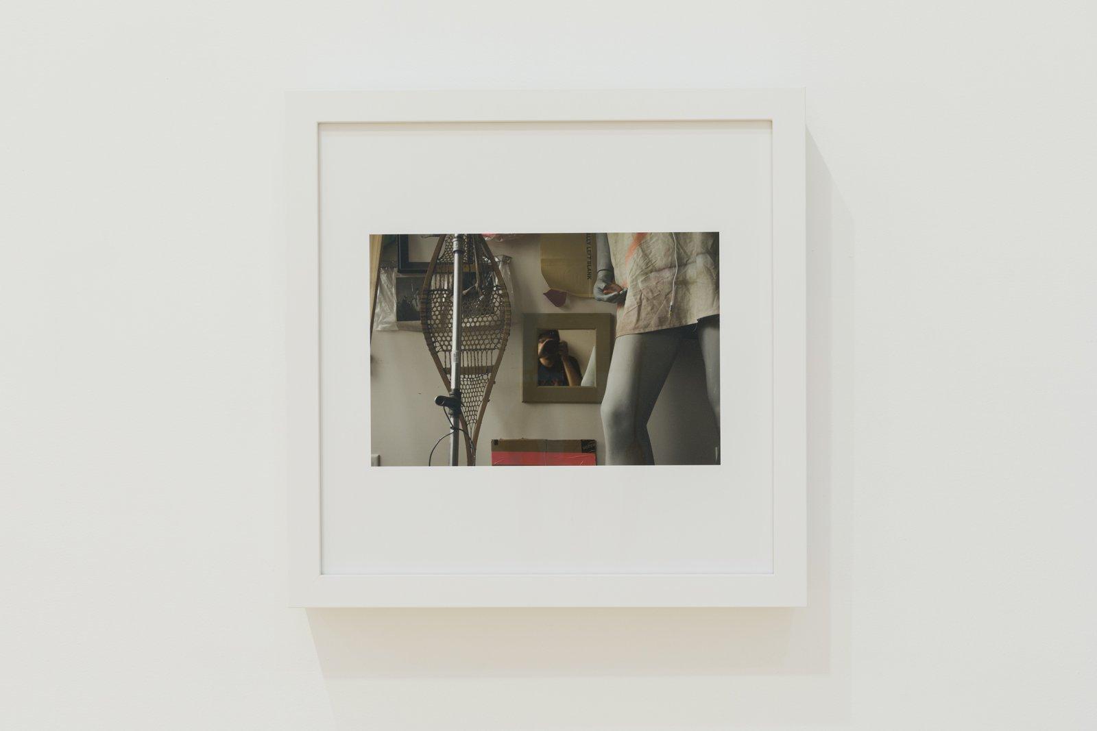 Duane Linklater,for laura ortman, 2017, framed digital print mounted to dibond, 16 x 16 in. (41 x 41 cm)
