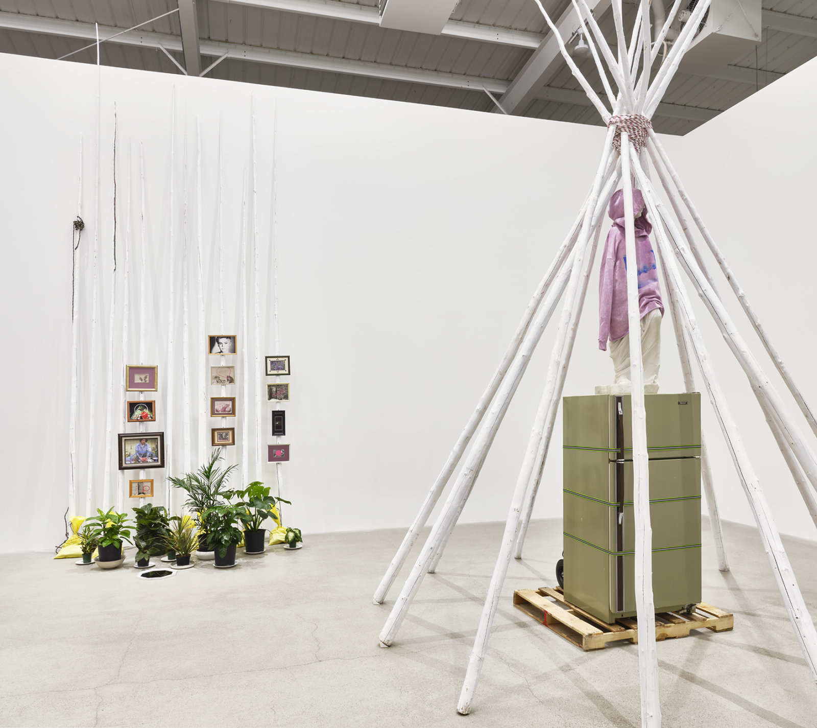 Duane Linklater, installation view, primaryuse, Catriona Jeffries, Vancouver, 2020 by Duane Linklater