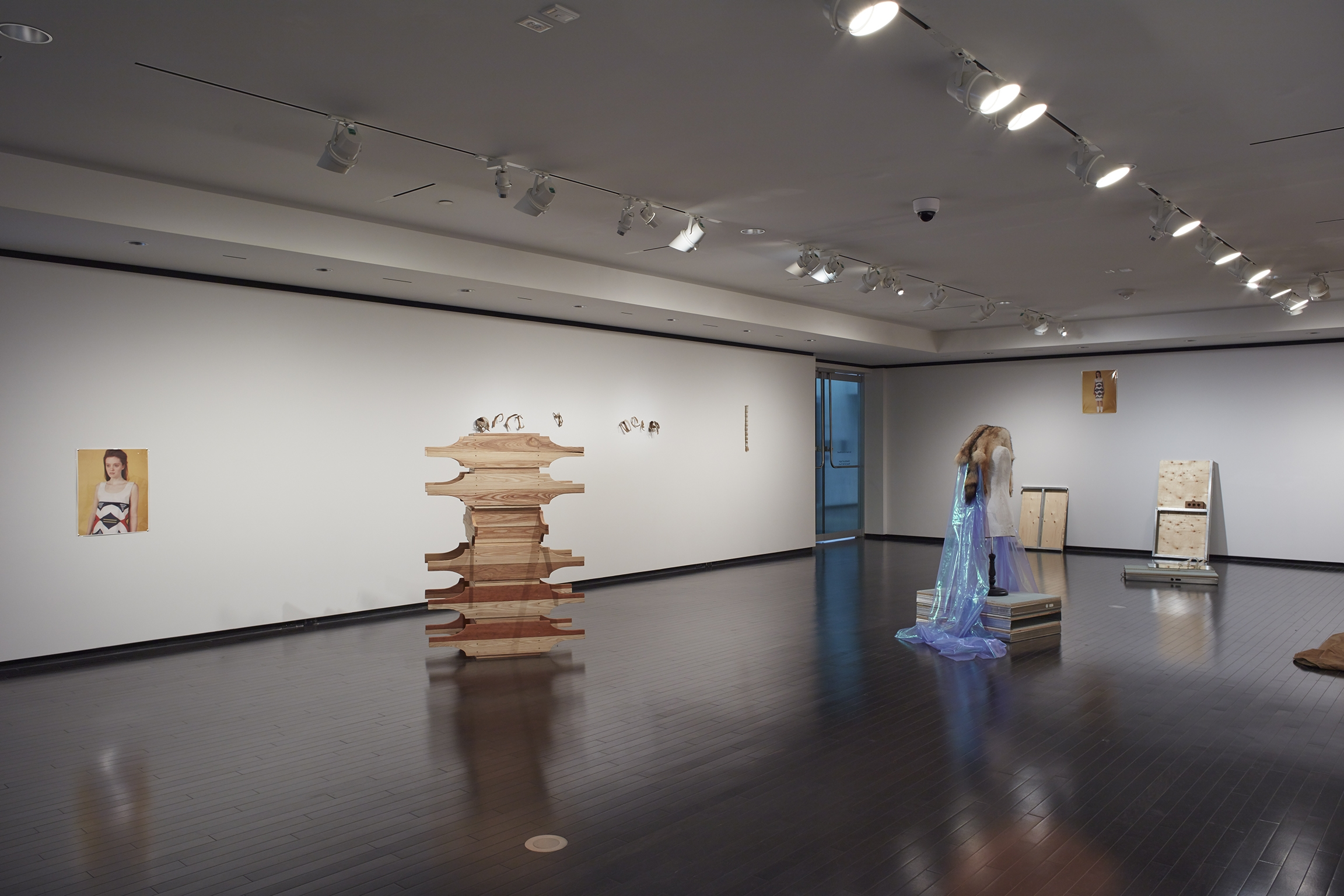 Duane Linklater, Tanya Lukin Linklater, installation view, A Parallel Excavation, Art Gallery of Alberta, Edmonton, Canada, 2016 by