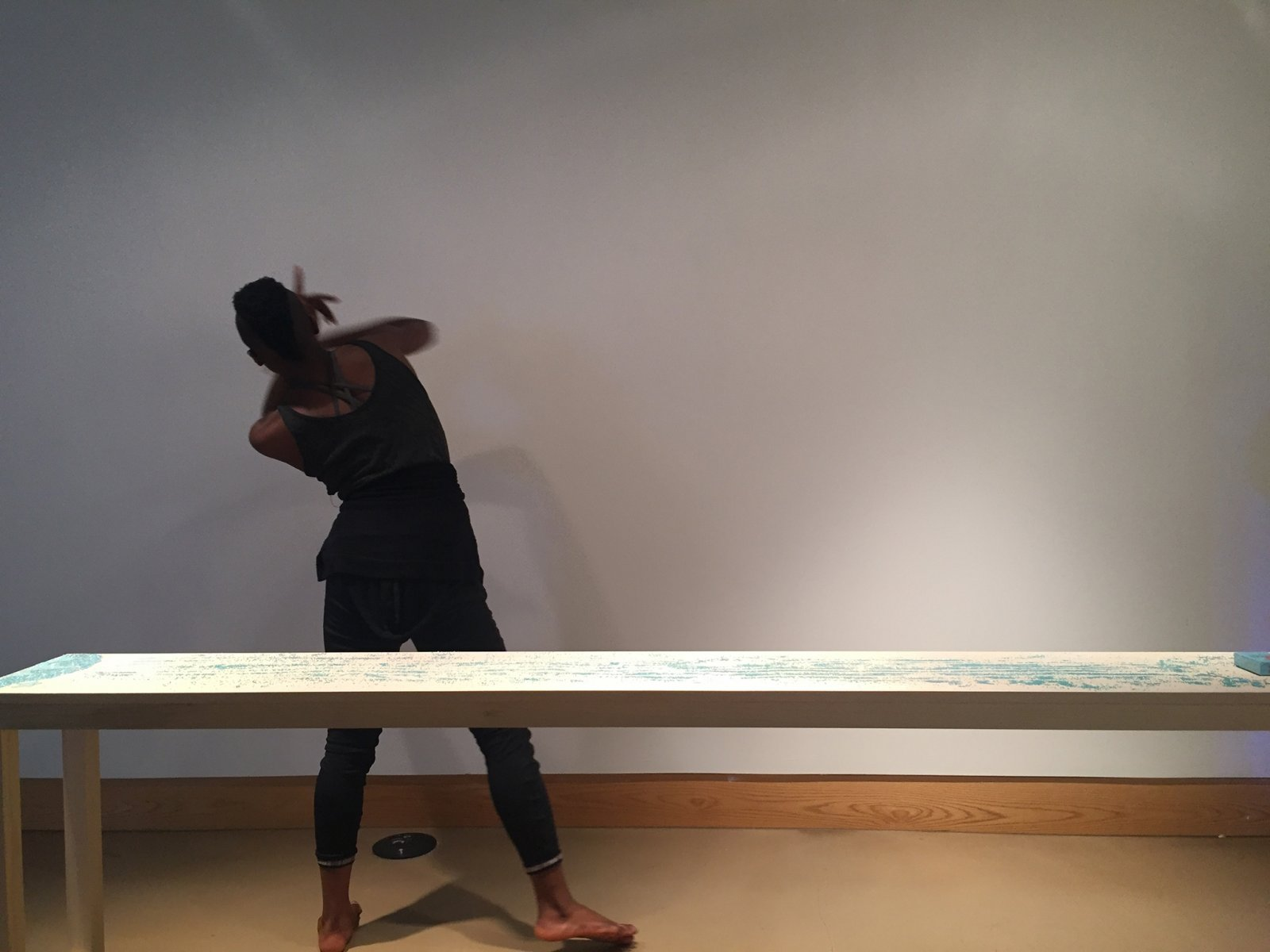 Tanya Lukin Linklater, Slow Scrape and the Harvest Sturdies, 2013–2017, site-specific performance. Performance documentation, The Harvest Sturdies, All My Relations Arts, Minneapolis, USA, 2017