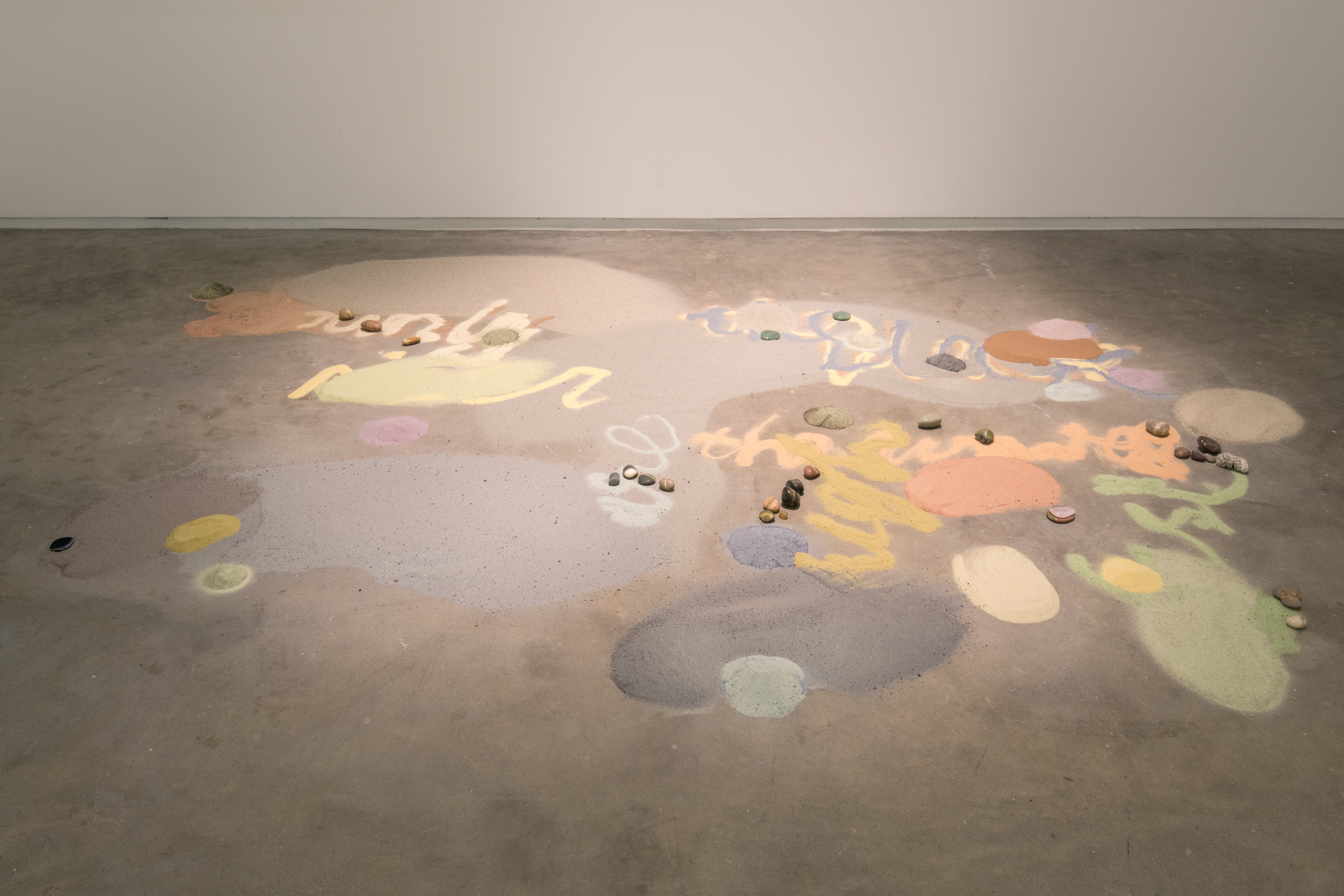 Christina Mackie, Interzonal, 2002–2012, mixed media, dimensions variable by