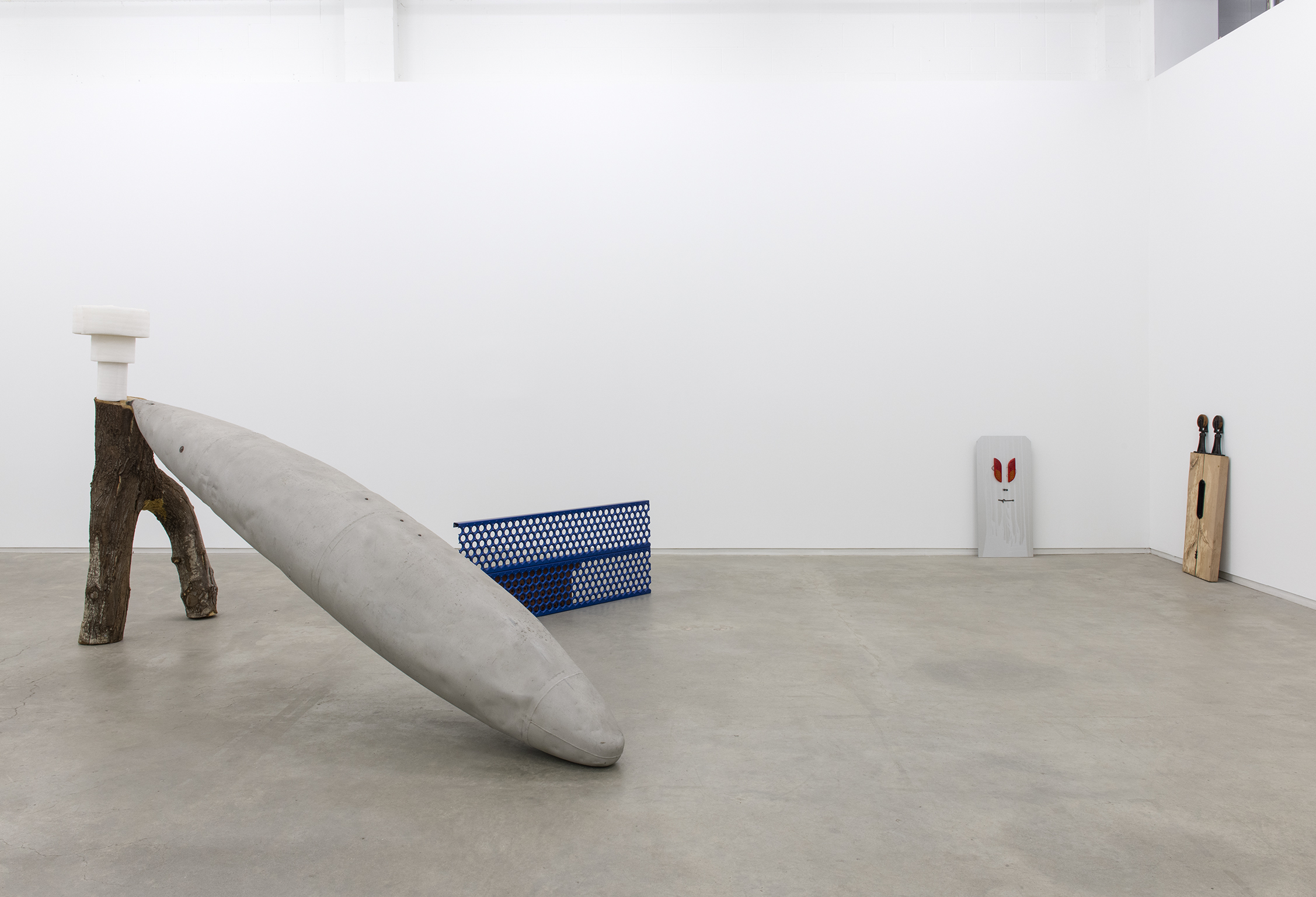 ​Christina Mackie​, Jerry Pethick, Bigger than a book, wilder than a tree, installation view, Catriona Jeffries, 2012 by