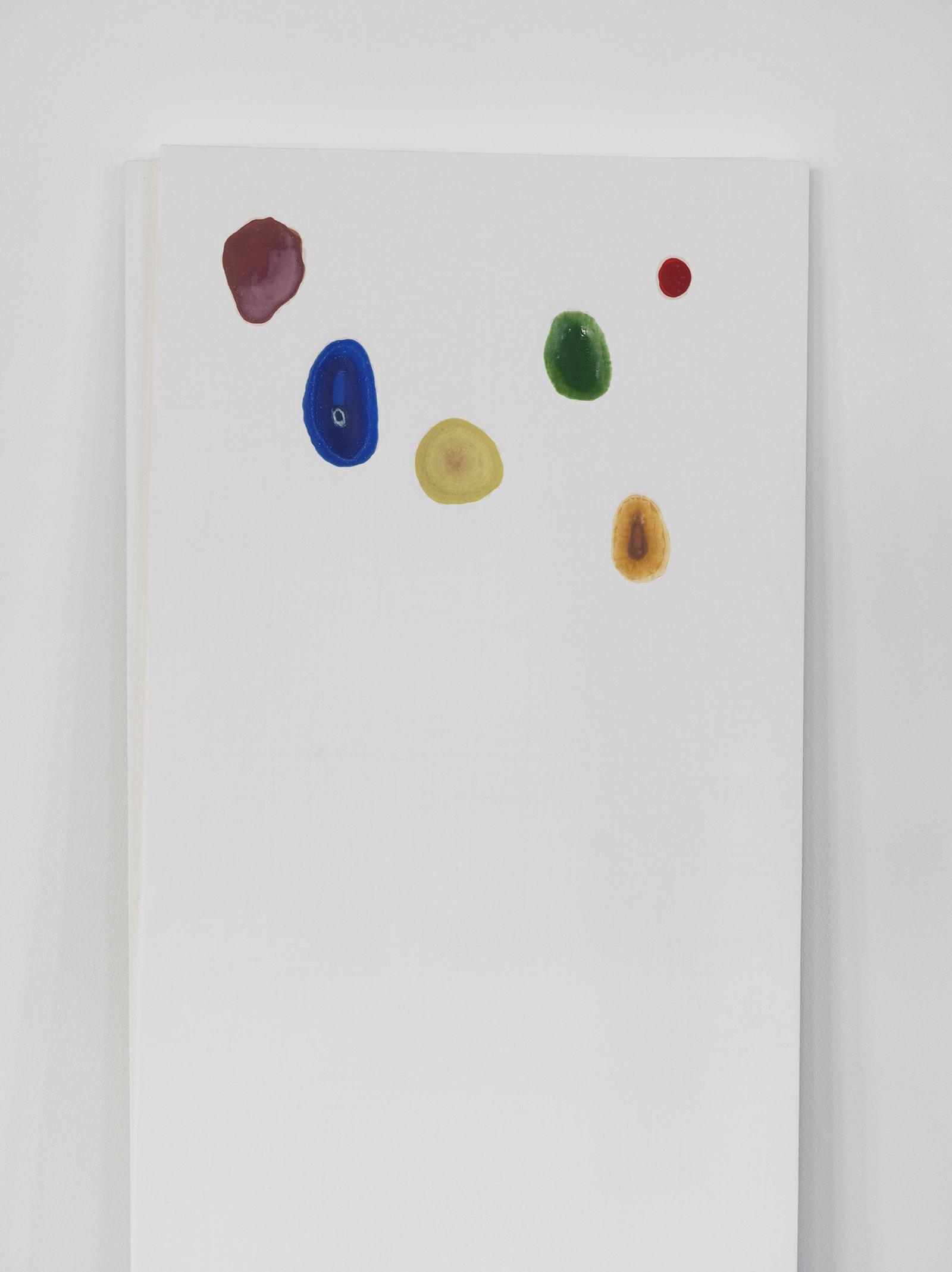 Christina Mackie, Chalk no. 5 (detail), 2014, birch, gesso, watercolour, 78 x 24 in. (198 x 62 cm)   by Christina Mackie