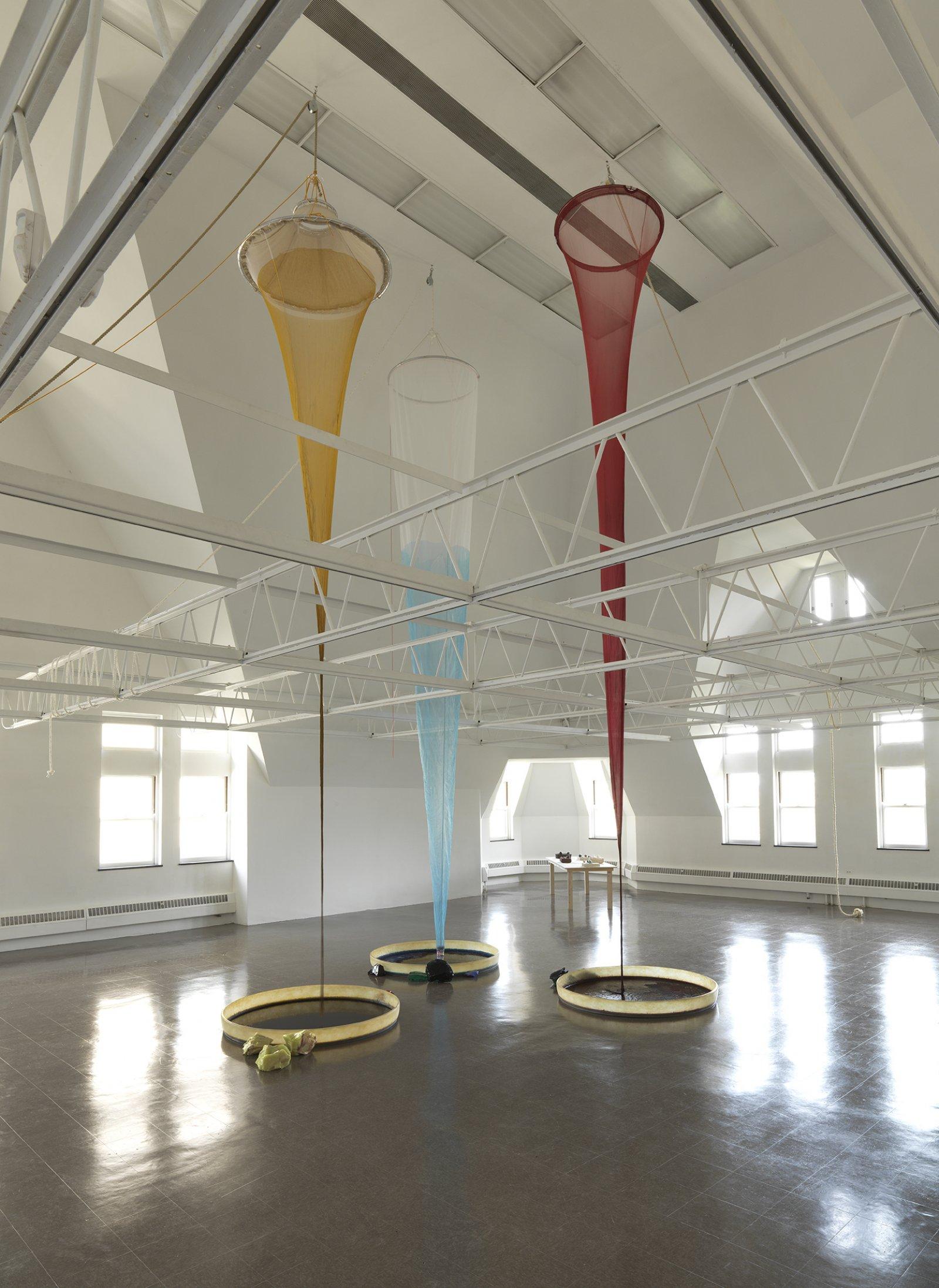 Christina Mackie, Colour Drop, 2014, mixed media, dimensions variable by Christina Mackie