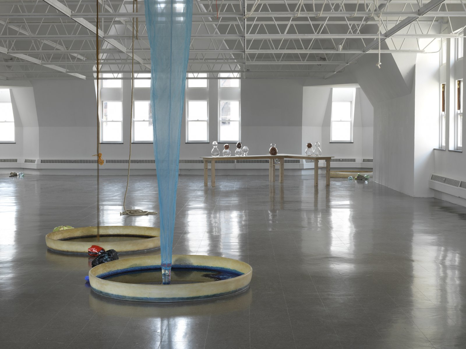 Christina Mackie, Colour Drop (detail), 2014, mixed media, dimensions variable by Christina Mackie