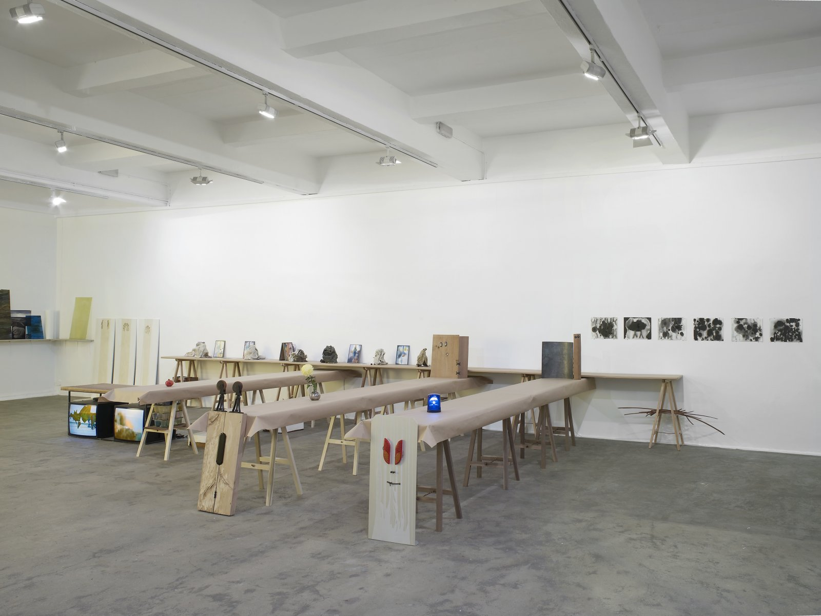 Christina Mackie, installation view, Painting the Weights, Chisenhale Gallery, London, UK, 2012 by Christina Mackie