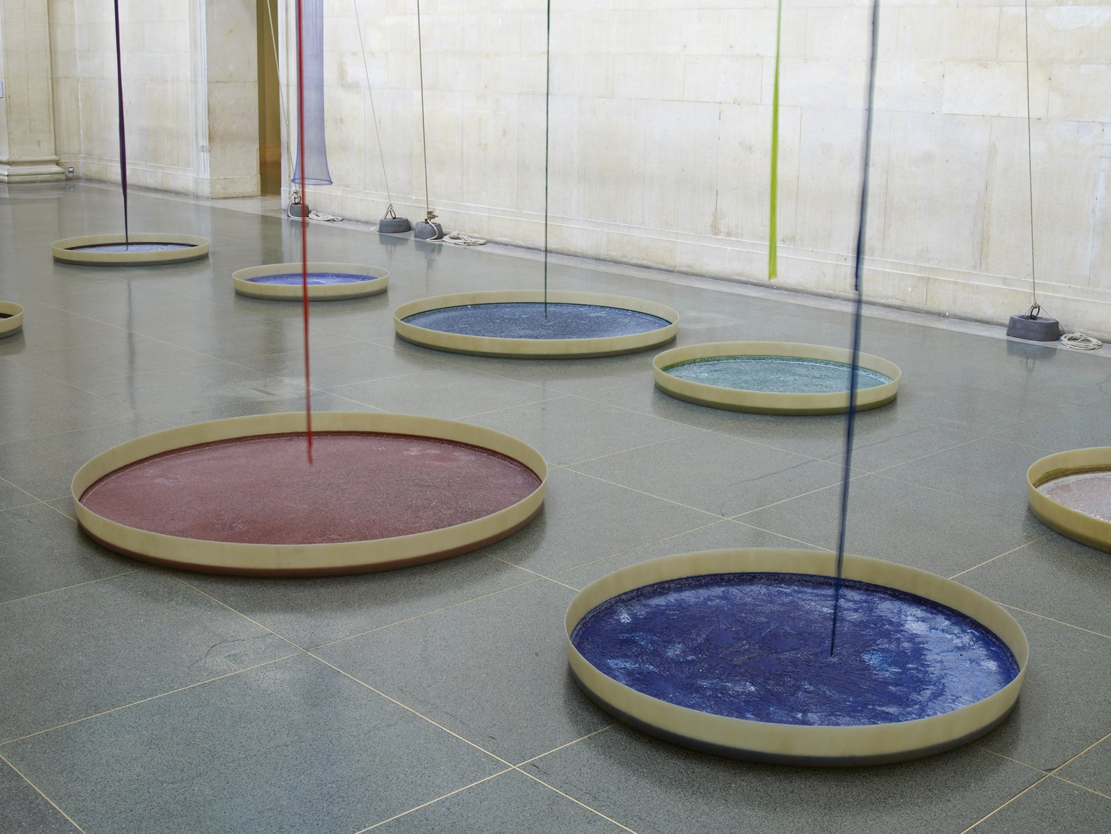 Christina Mackie, Filters (detail), 2015, mixed media, dimensions variable. Installation view, The filters, Tate Britain, London, UK, 2015 by Christina Mackie