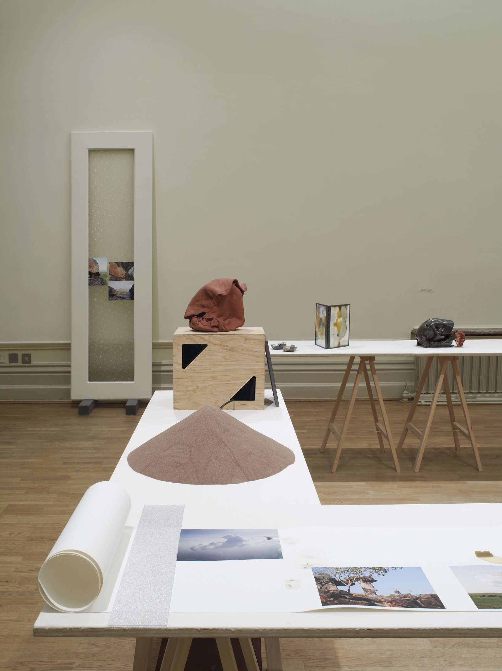 Christina Mackie, The Judges III (detail), 2013, mixed media, dimensions variable. Installation view, Nottingham Castle Museum, 2013 by Christina Mackie