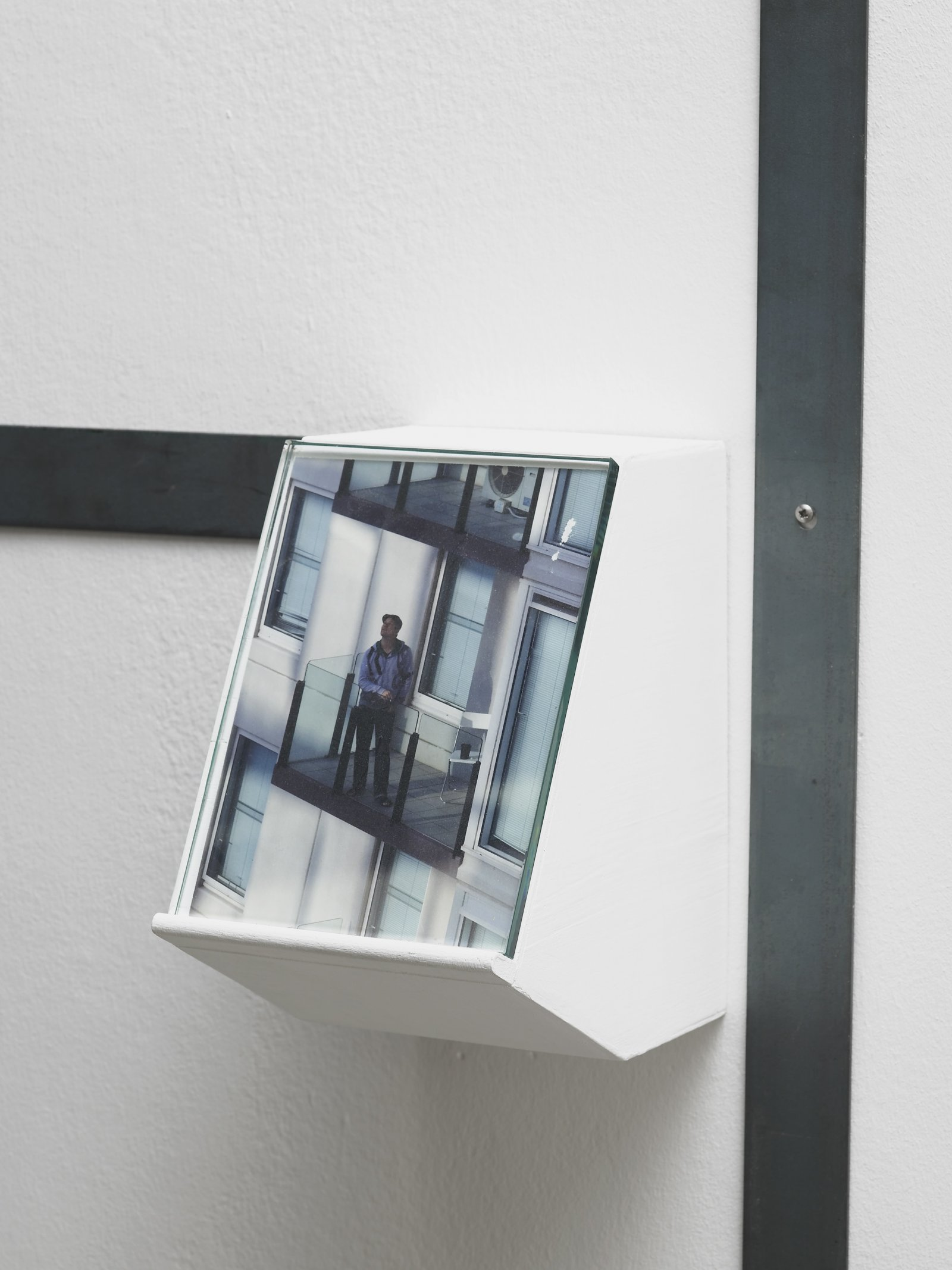Christina Mackie, Us, The Residents (detail), 2011–2012, mixed media, dimensions variable. Installation view, Painting the Weights, Chisenhale Gallery, London, UK, 2012 by Christina Mackie