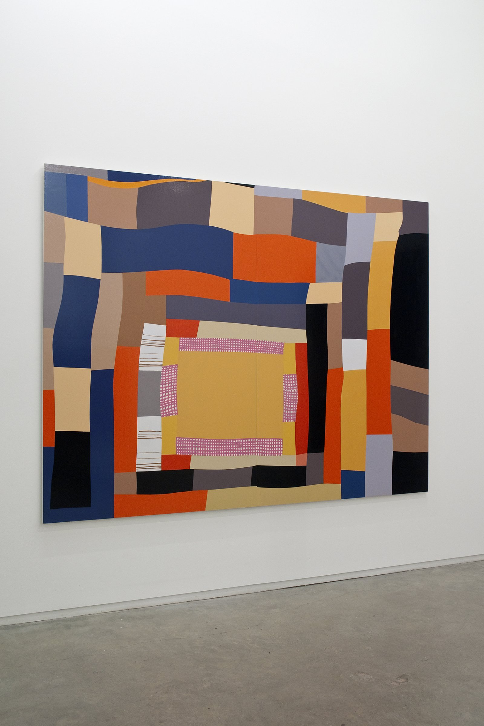 Myfanwy MacLeod, Ain't Nothing Ever Happened, 2009, enamel on wood, 72 x 96 in. (183 x 244 cm) by Myfanwy MacLeod