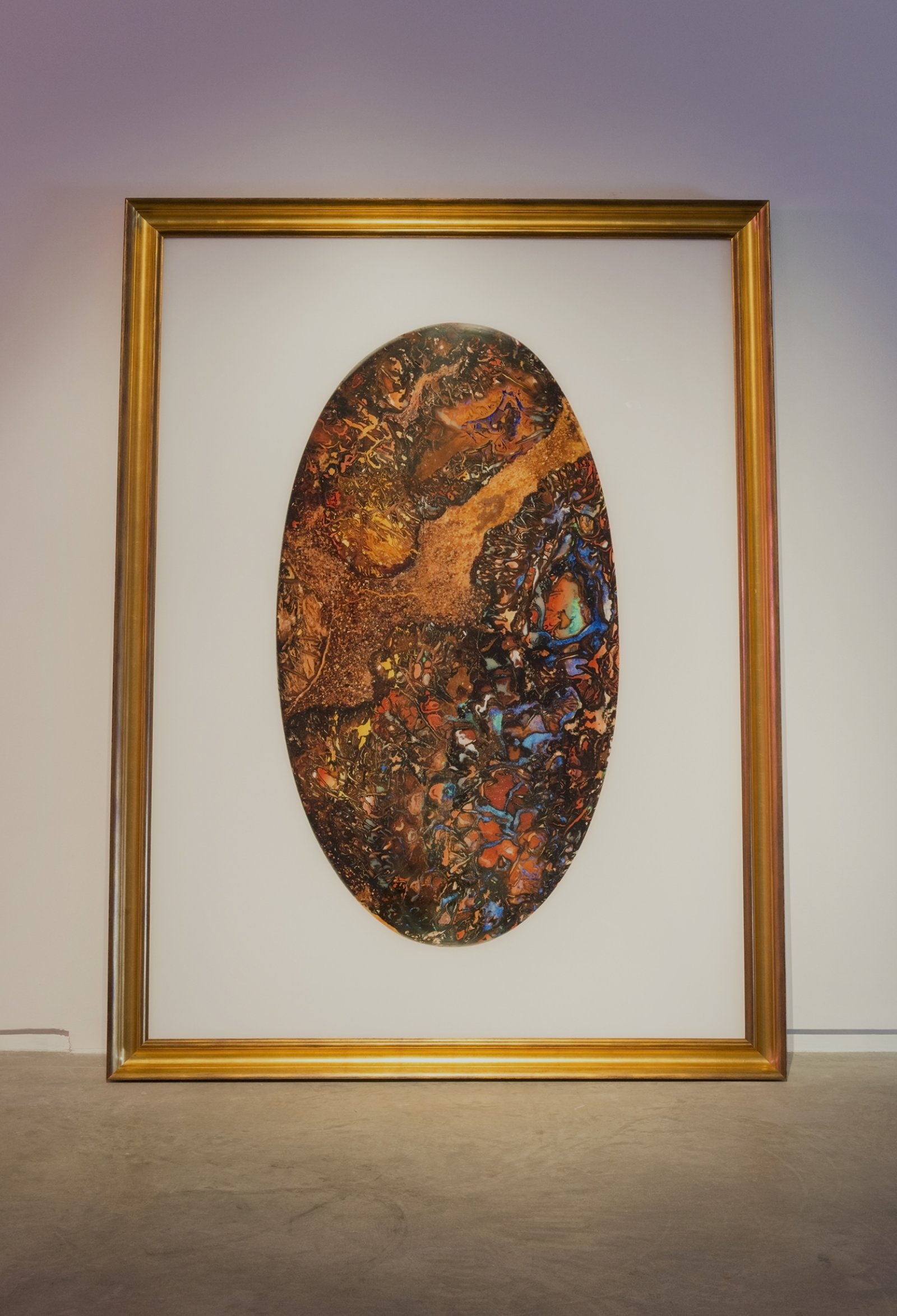Myfanwy MacLeod, Churinga, 2015, framed transmounted lightjet print, 91 x 62 in. (232 x 158 cm) by Myfanwy MacLeod