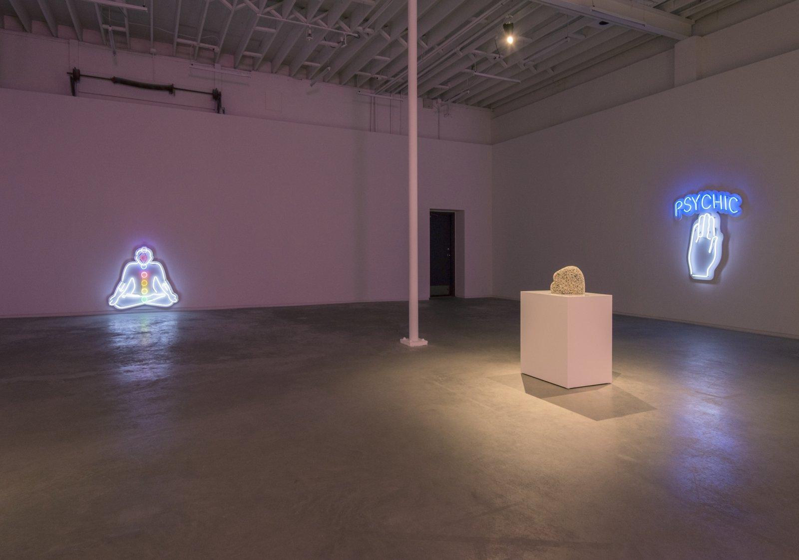 Myfanwy MacLeod, installation view, TELL HER NOTHING SHE TELLS ALL, Catriona Jeffries, 2017 by Myfanwy MacLeod