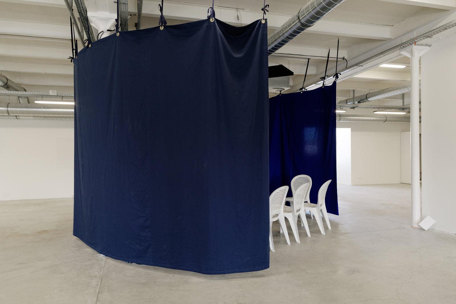 Andrea Buttner No Fear No Shame No Confusion Triangle 2013 Install 01 by Liz Magor