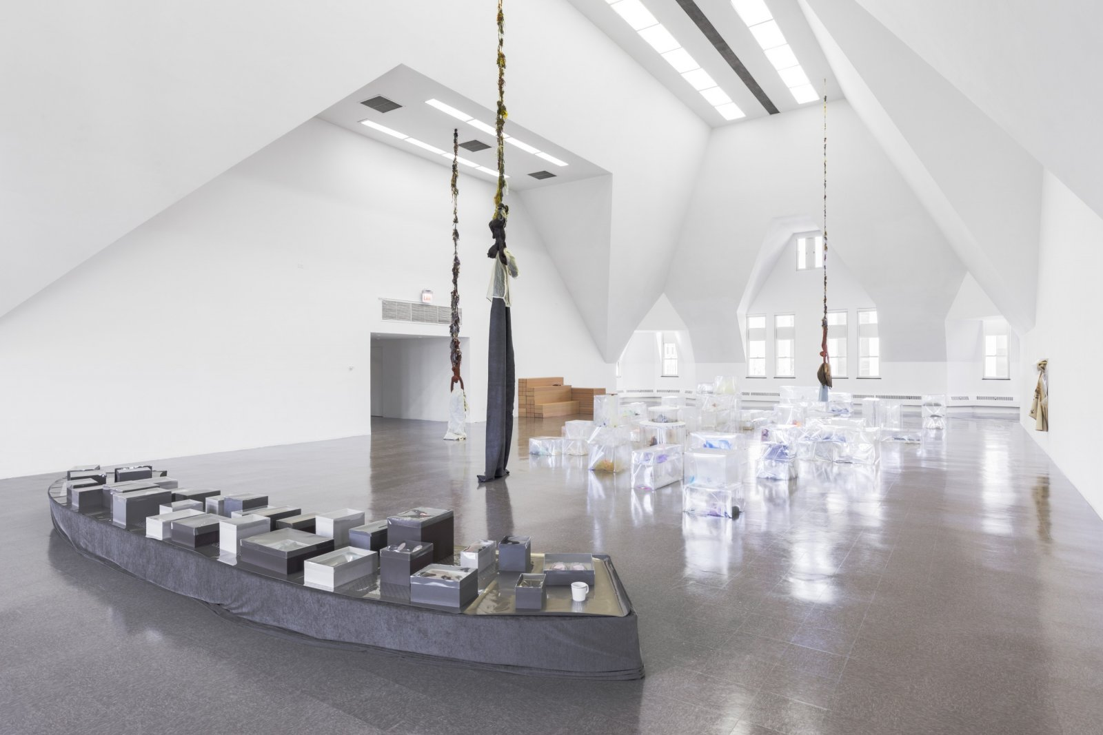 Liz Magor, installation view, BLOWOUT, The Renaissance Society, Chicago, USA, 2019 by Liz Magor