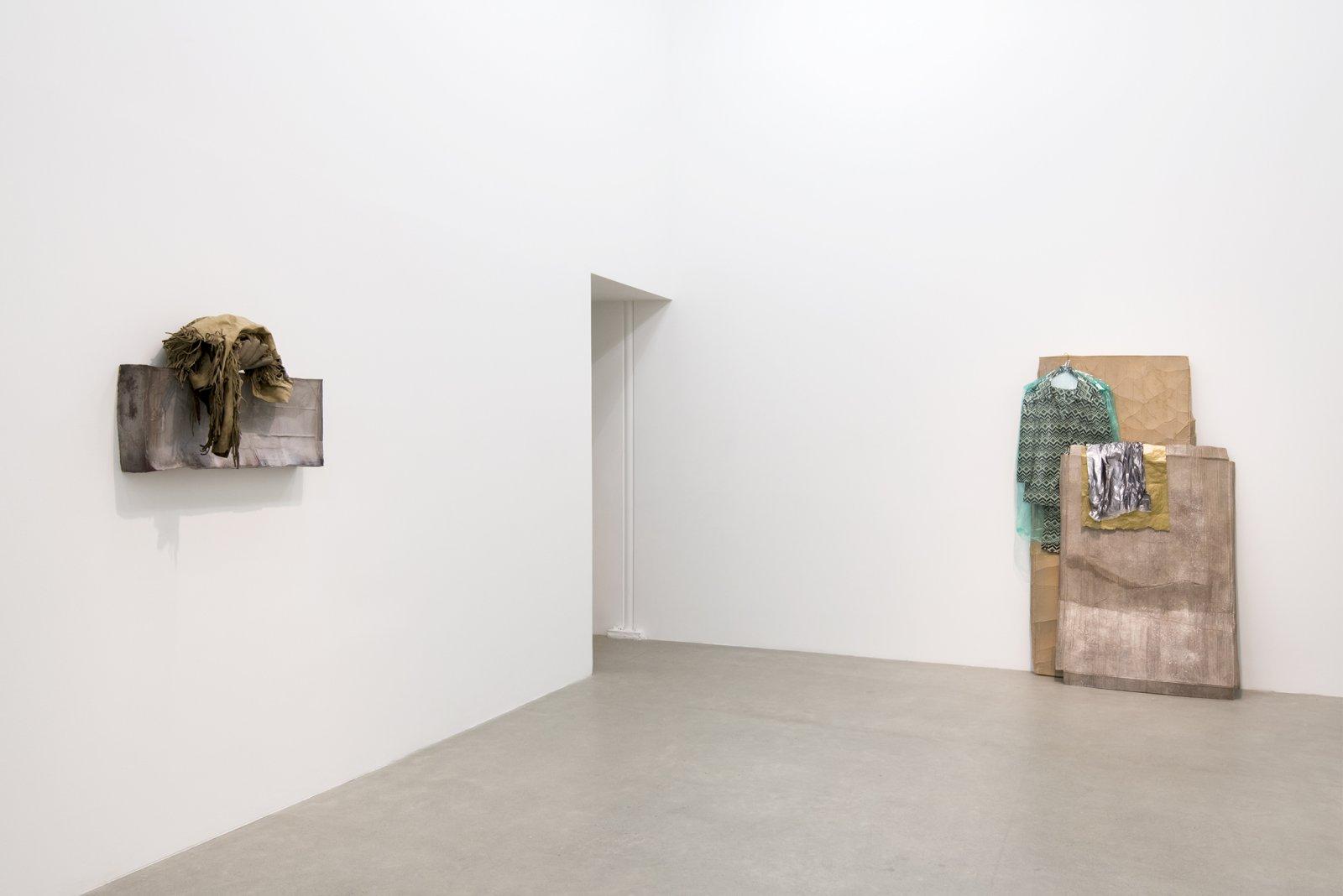 Liz Magor, installation view, Catriona Jeffries, 2016  by Liz Magor