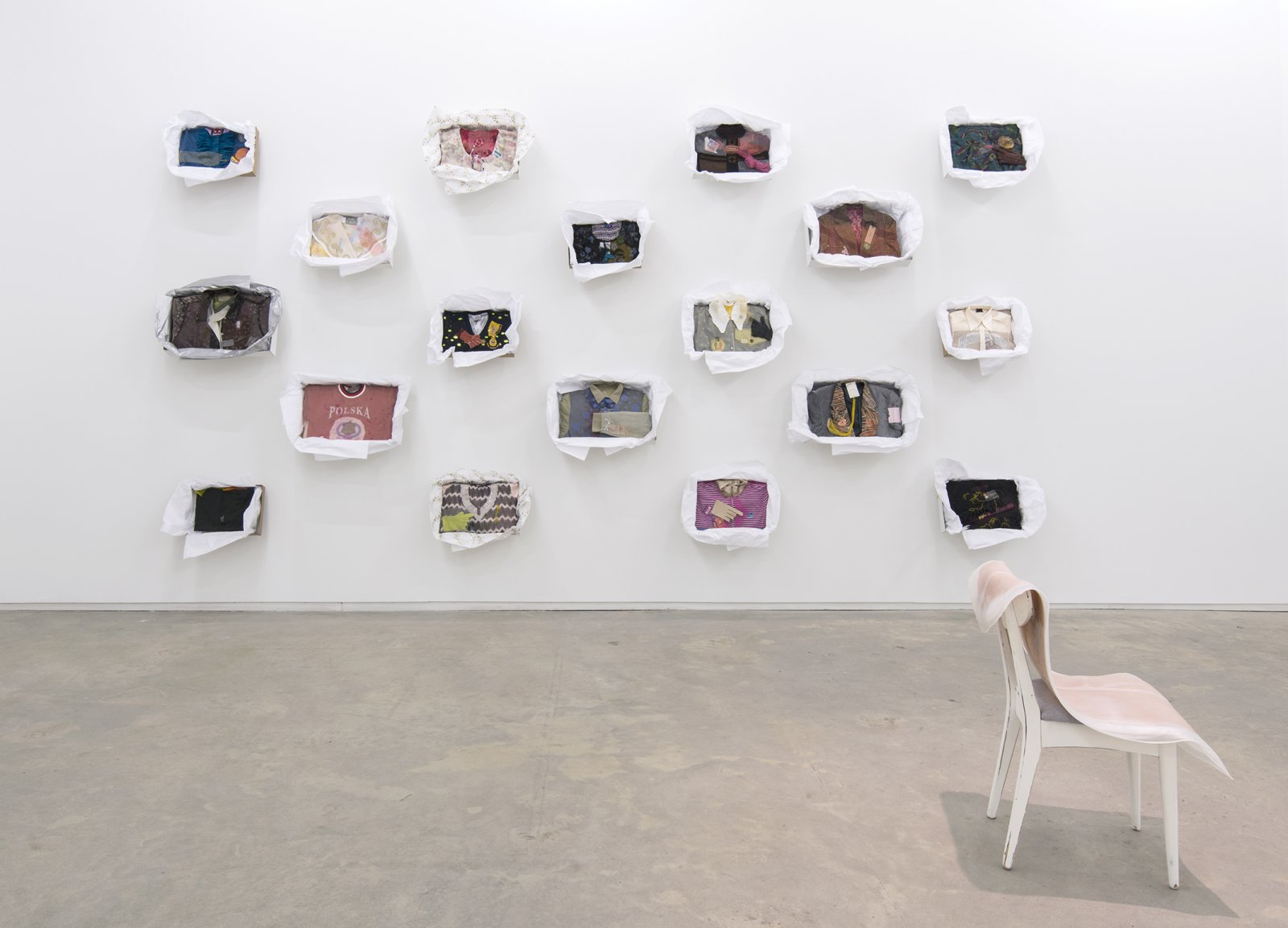 Liz Magor, I is being This, installation view, Catriona Jeffries, 2012  by Liz Magor