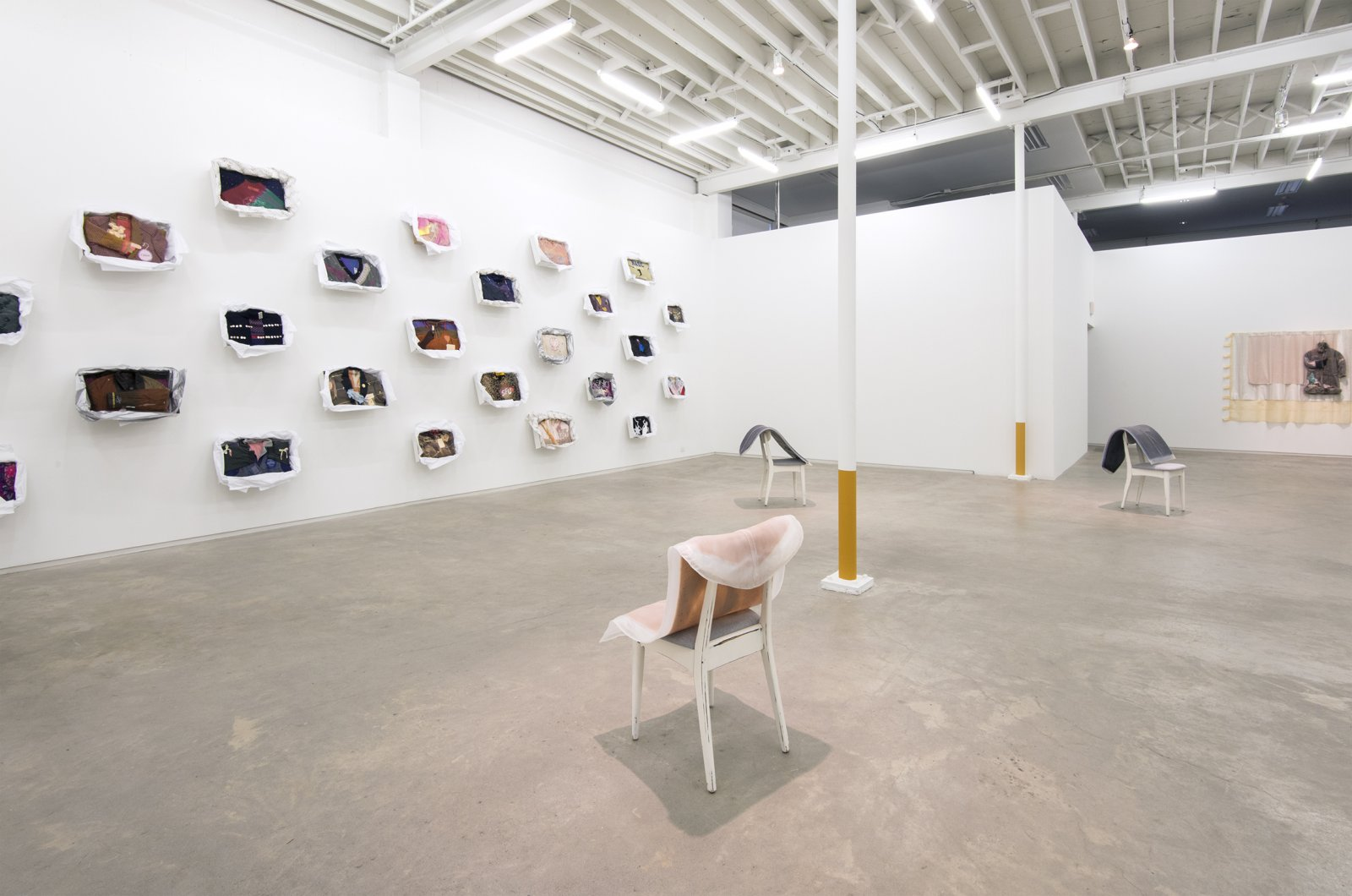 Liz Magor, I is being This, installation view, Catriona Jeffries, 2012 ​​ by Liz Magor