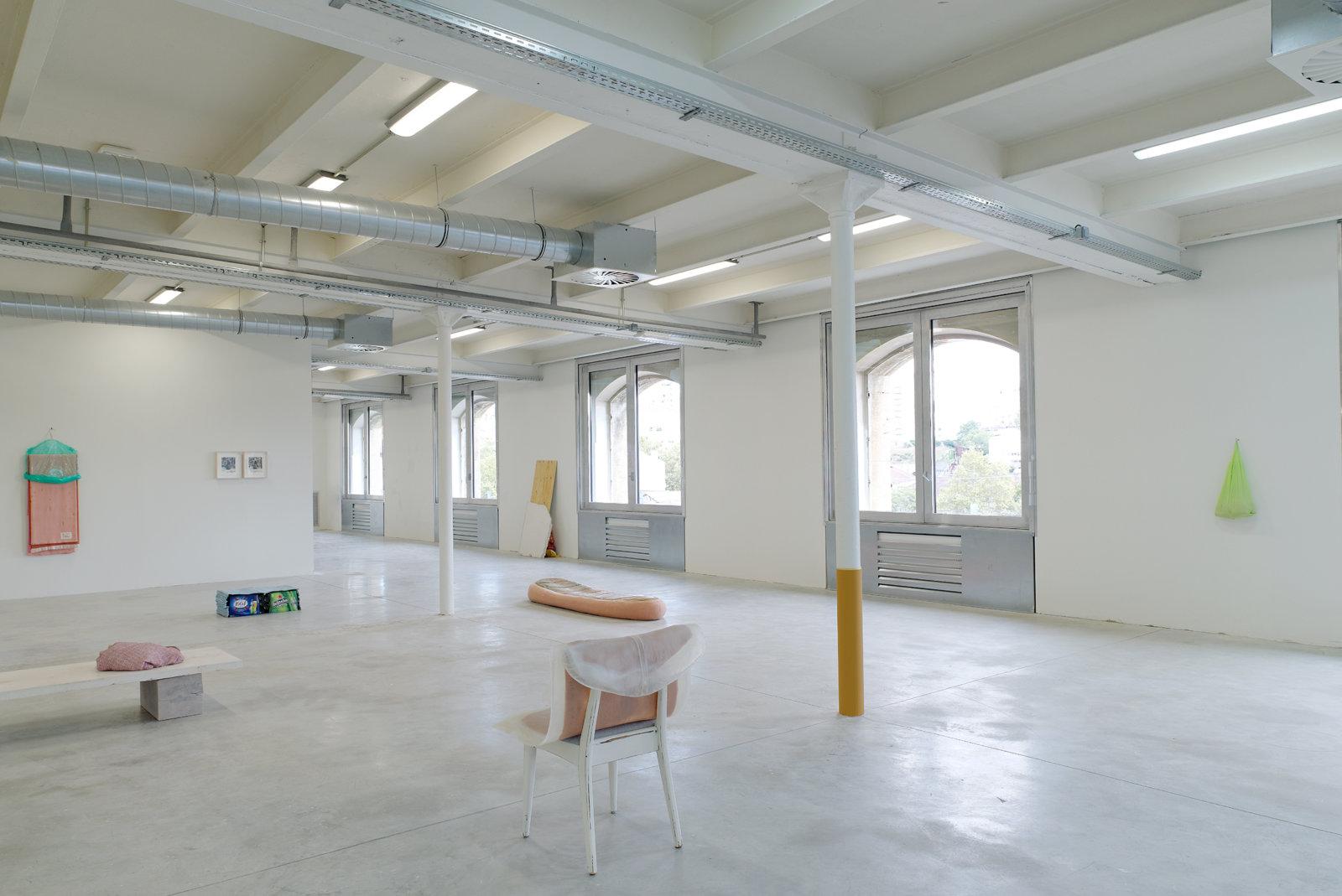 Liz Magor, installation view, No Fear, No Shame, No Confusion, Triangle France, Marseilles, 2013 by Liz Magor