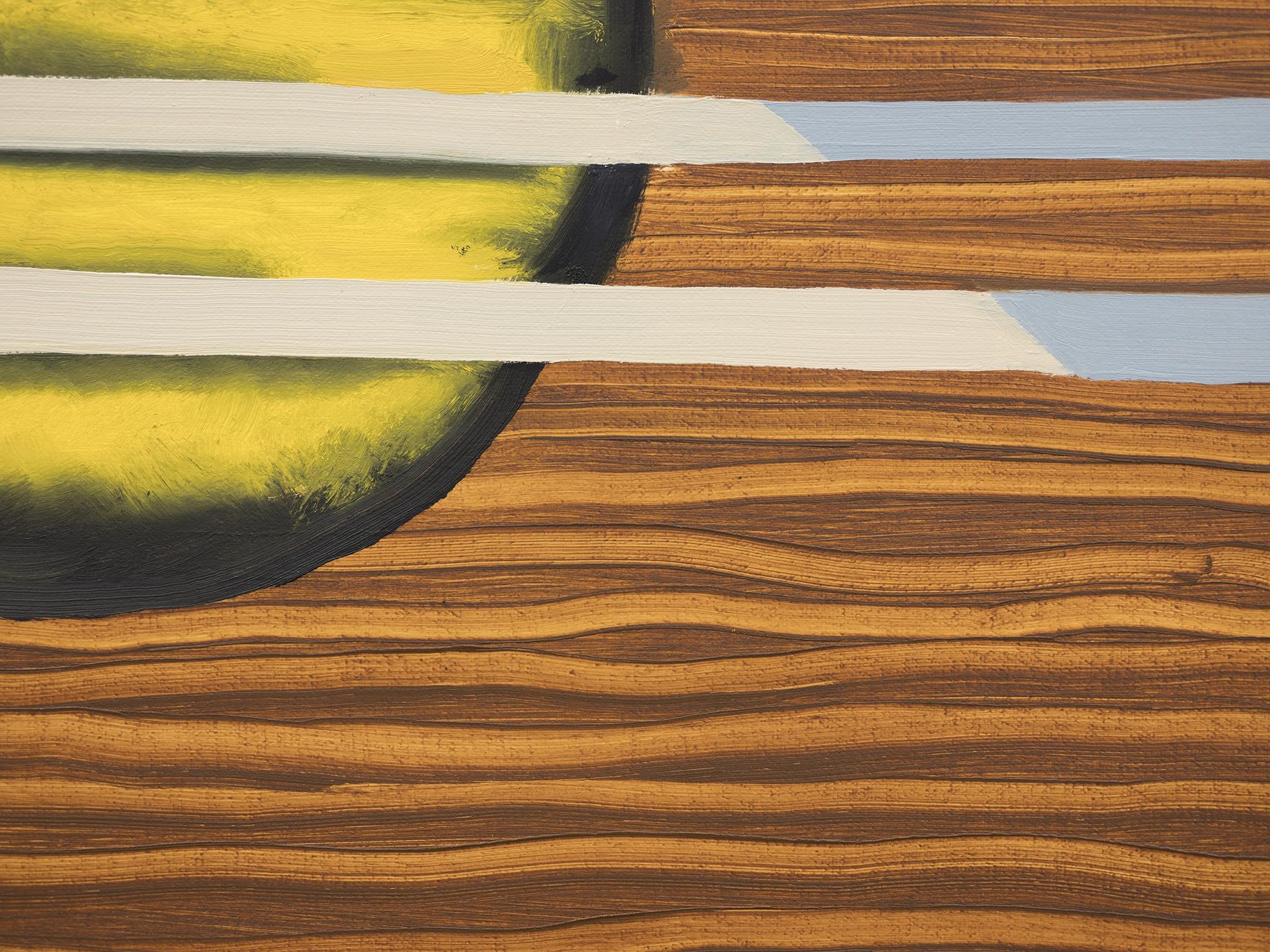 Elizabeth McIntosh, Guitar Guitar (detail), 2019, oil on canvas, 78 x 72 in. (198 x 183 cm) by