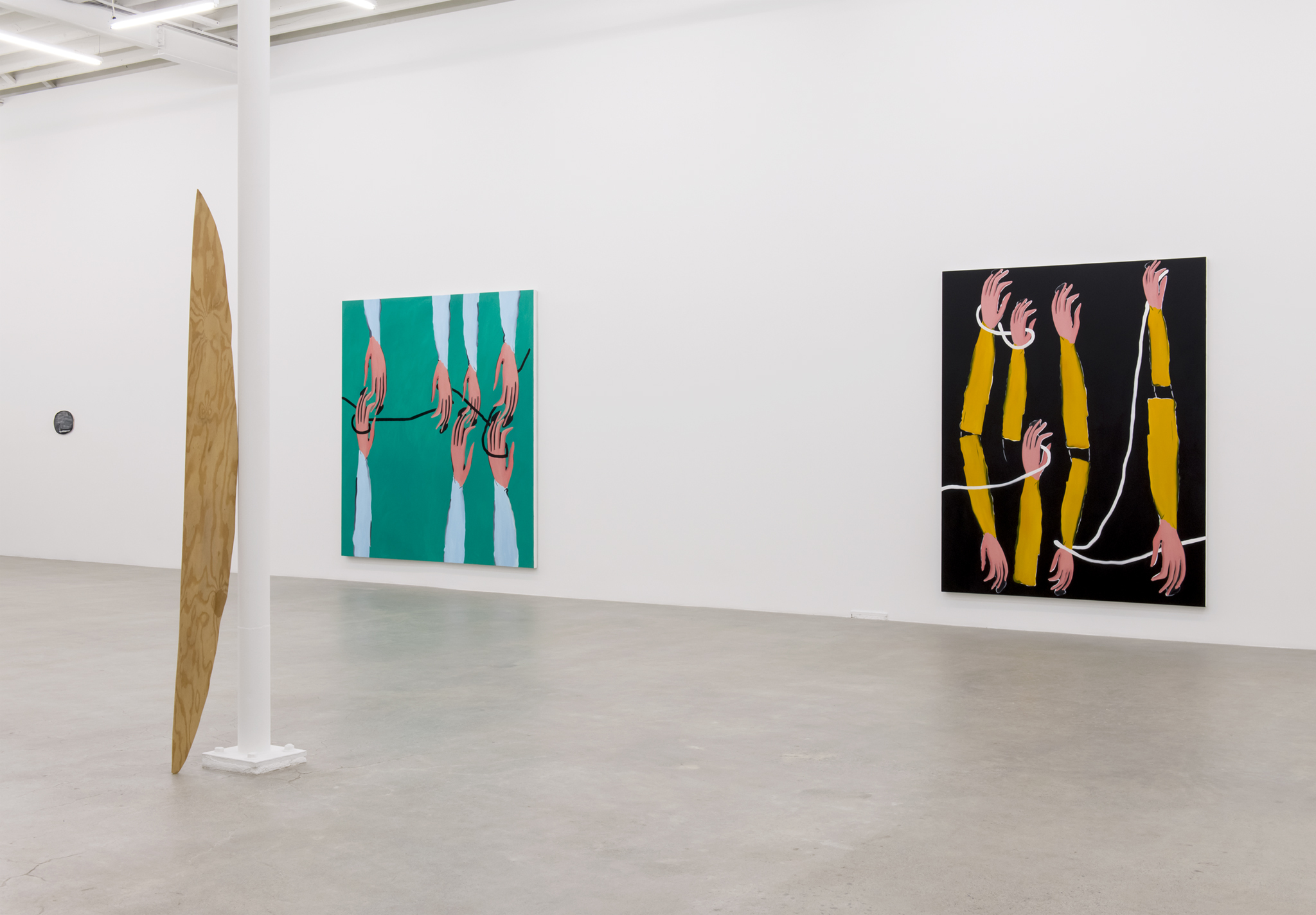 ​Elizabeth McIntosh, Monique Mouton, Silke Otto-Knapp, installation view, Catriona Jeffries, 2017 ​ by